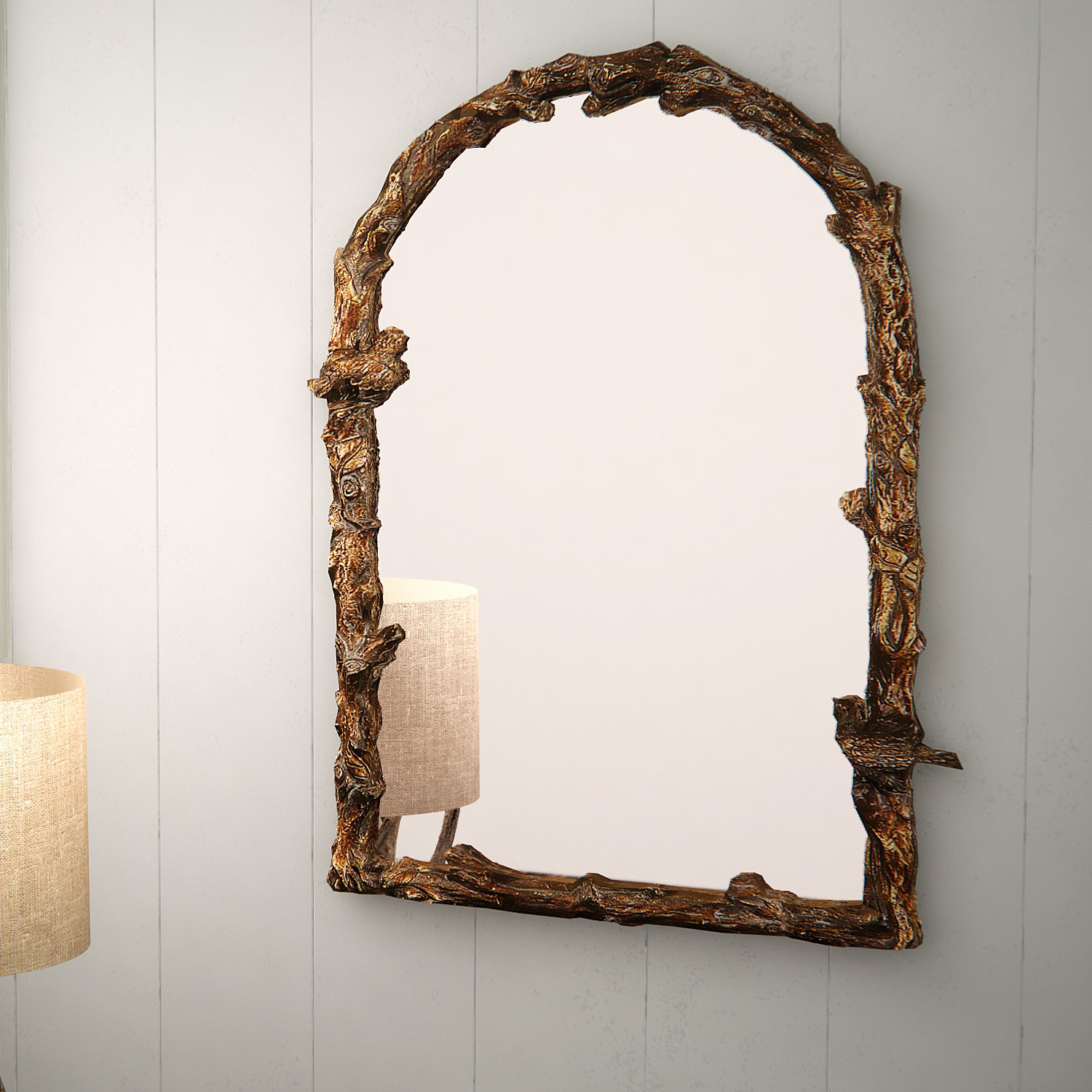 Well Liked Traditional Metal Wall Mirrors With Regard To Eliana Traditional Wall Mirror (View 16 of 20)