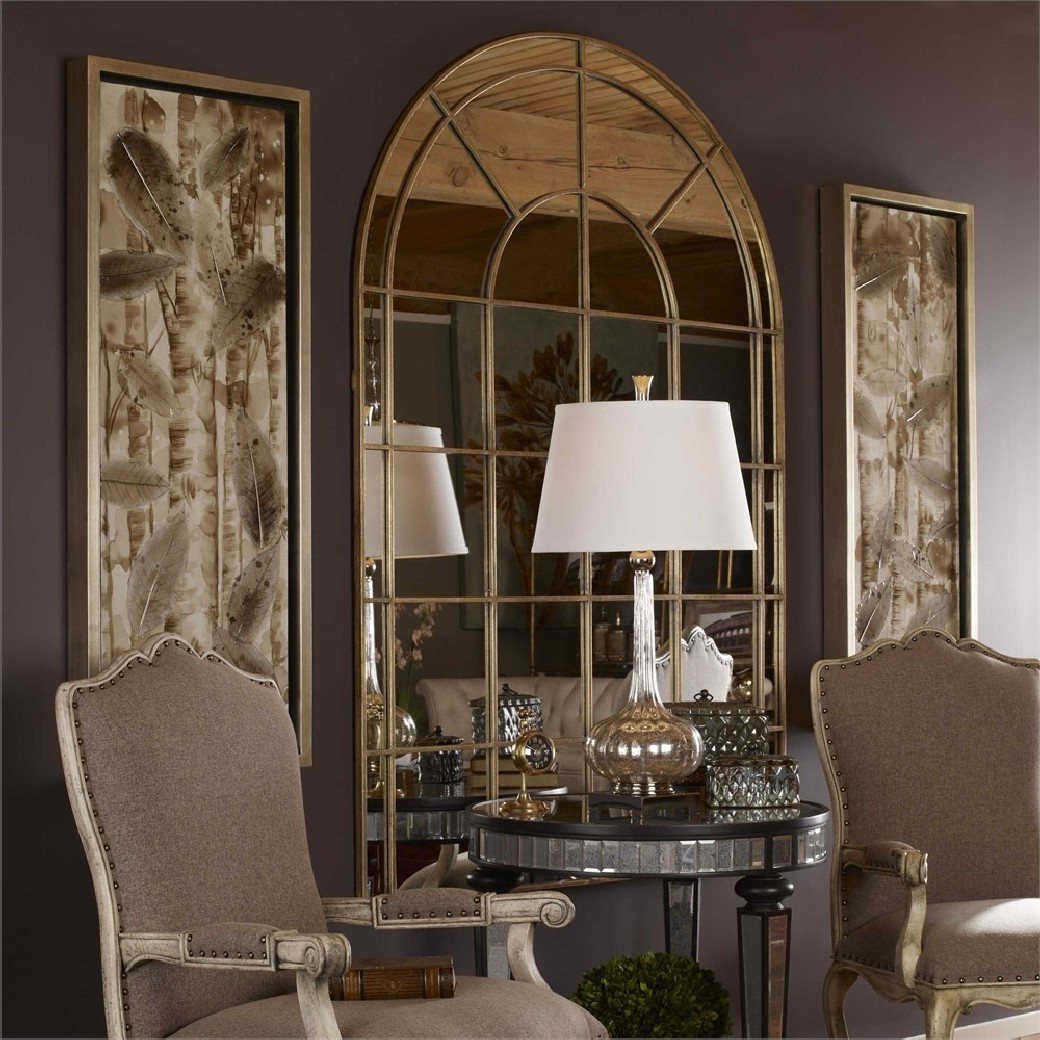 Well Liked Uttermost Wall Mirrors Pertaining To Uttermost Grantola Wall Mirror (View 20 of 20)
