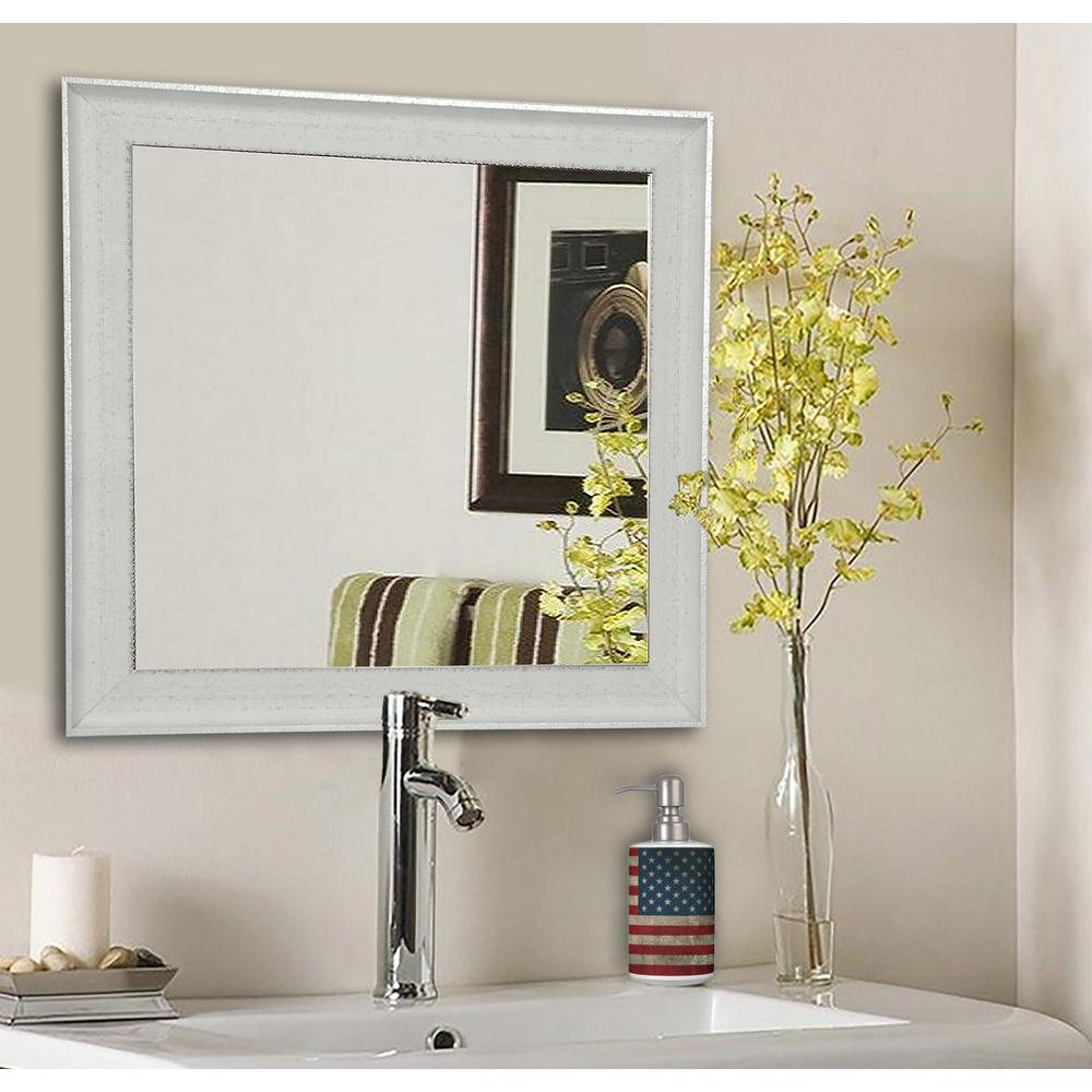 Well Liked Vanity Wall Mirrors In 27.5 In. X 27.5 In (View 16 of 20)