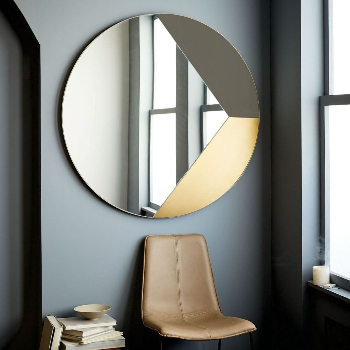 West Elm Wall Mirrors Within Most Up To Date Geo Shapes Wall Mirror – Selected For Entry Console (View 11 of 20)