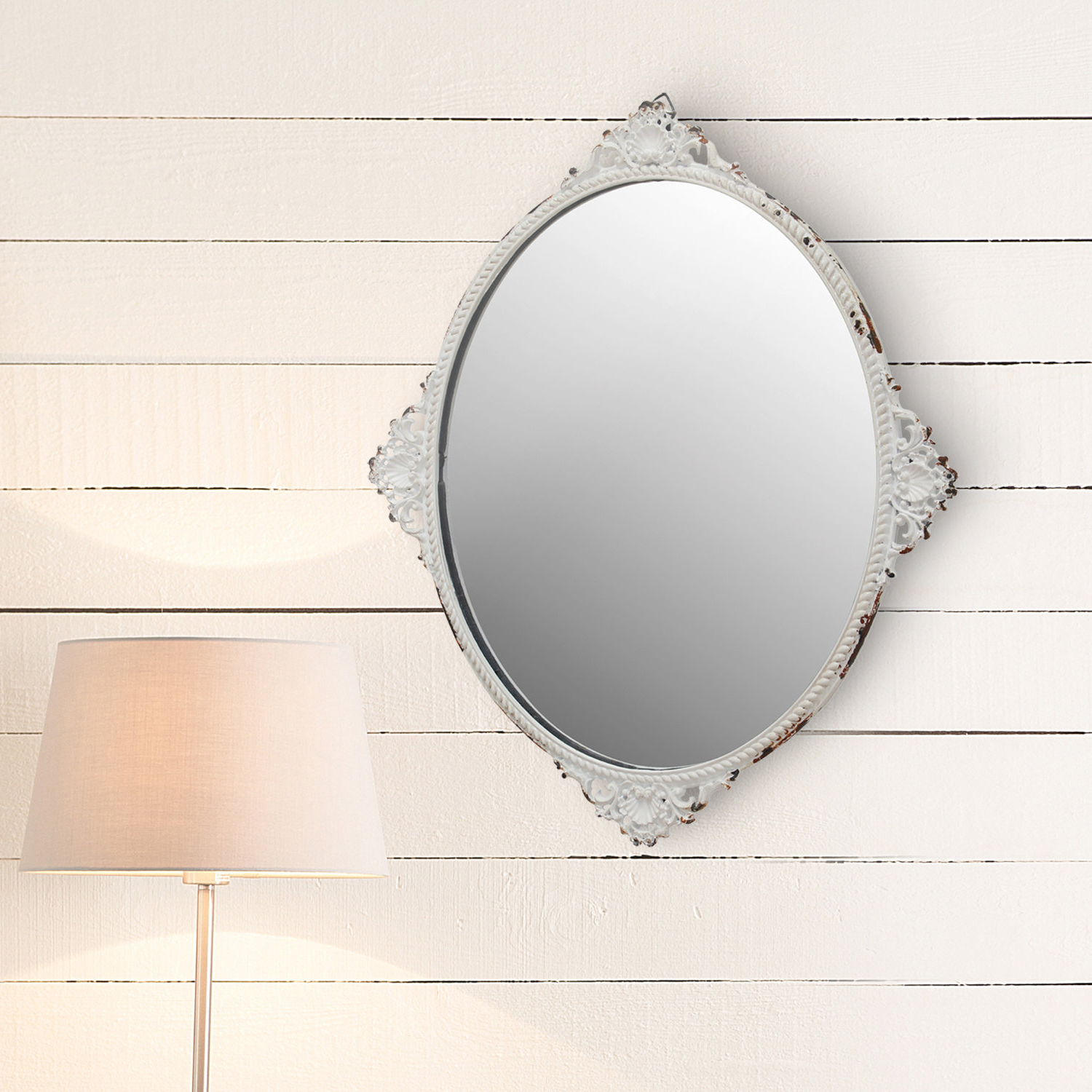 Whiddon Cottage / Country Accent Wall Mirror With Most Popular Knott Modern & Contemporary Accent Mirrors (View 20 of 20)