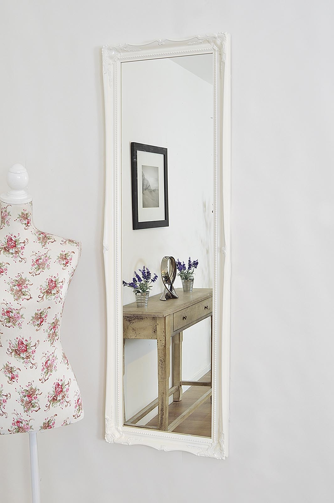 White Long Wall Mirrors For Preferred Long Wall Mirror White • Bathroom Mirrors And Wall Mirrors (View 4 of 20)
