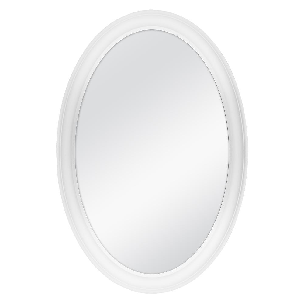 White Oval Wall Mirrors For Well Known Home Decorators Collection 21 In. W X 31 In (View 3 of 20)