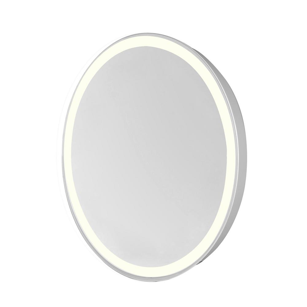 White Oval Wall Mirrors Inside Favorite Klein 21 In. X 28 In (View 19 of 20)
