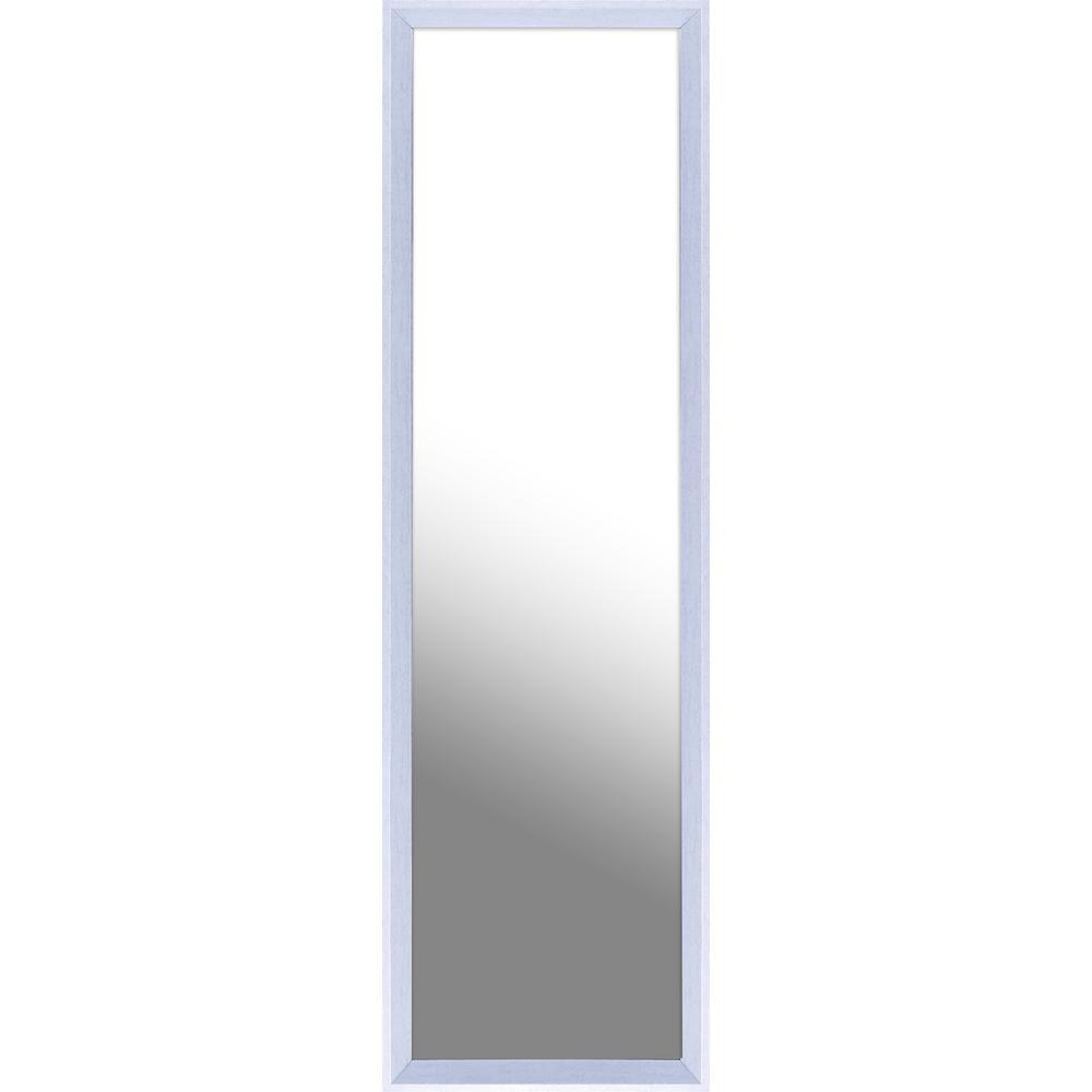 White Wall Mirrors With Hooks For Popular 13.5 In. X 49.5 In (View 19 of 20)