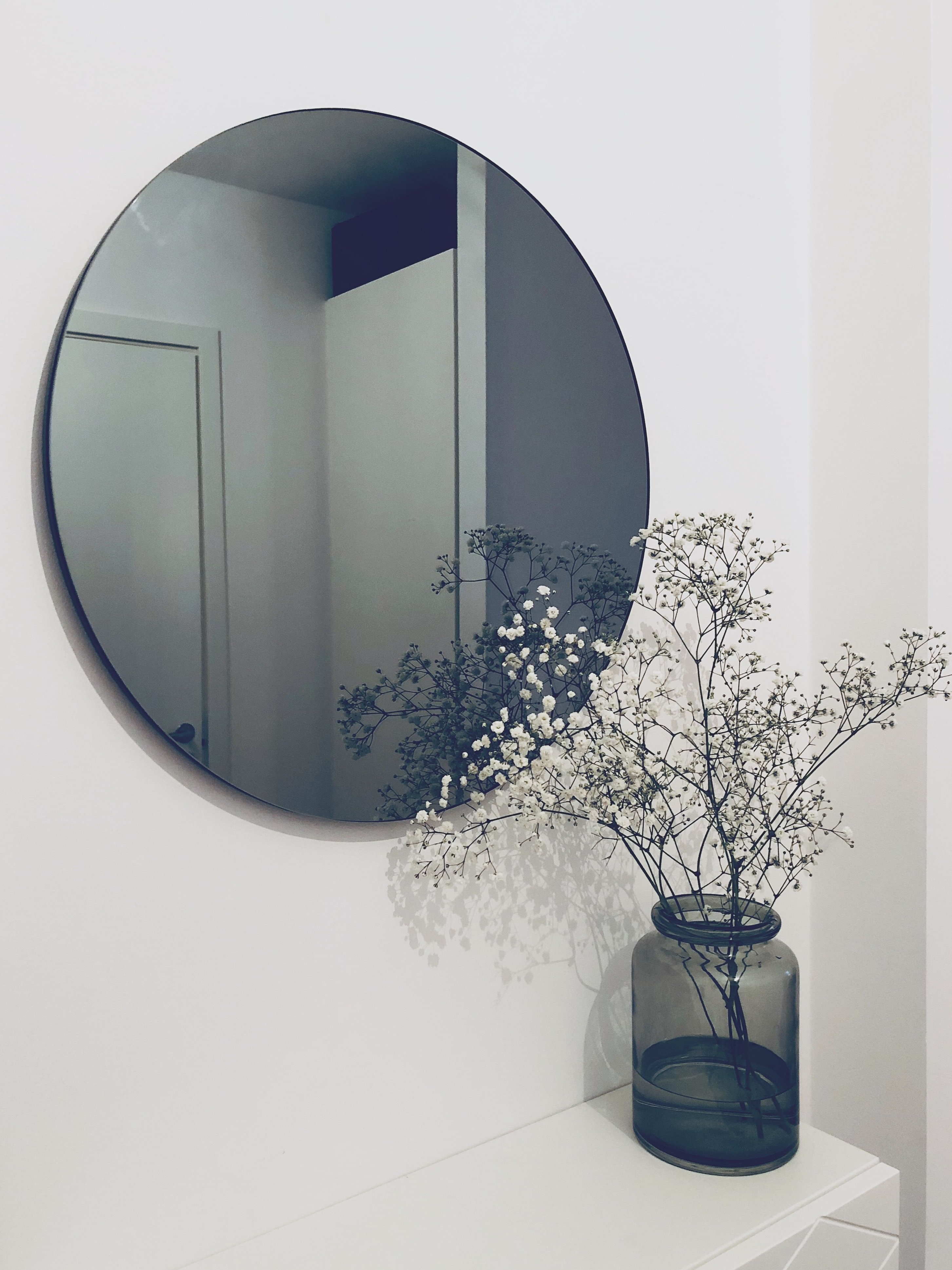 White Wall Mirrors With Hooks With Regard To Widely Used 16+ Indescribable Wall Mirror Stickers Ideas In (View 9 of 20)