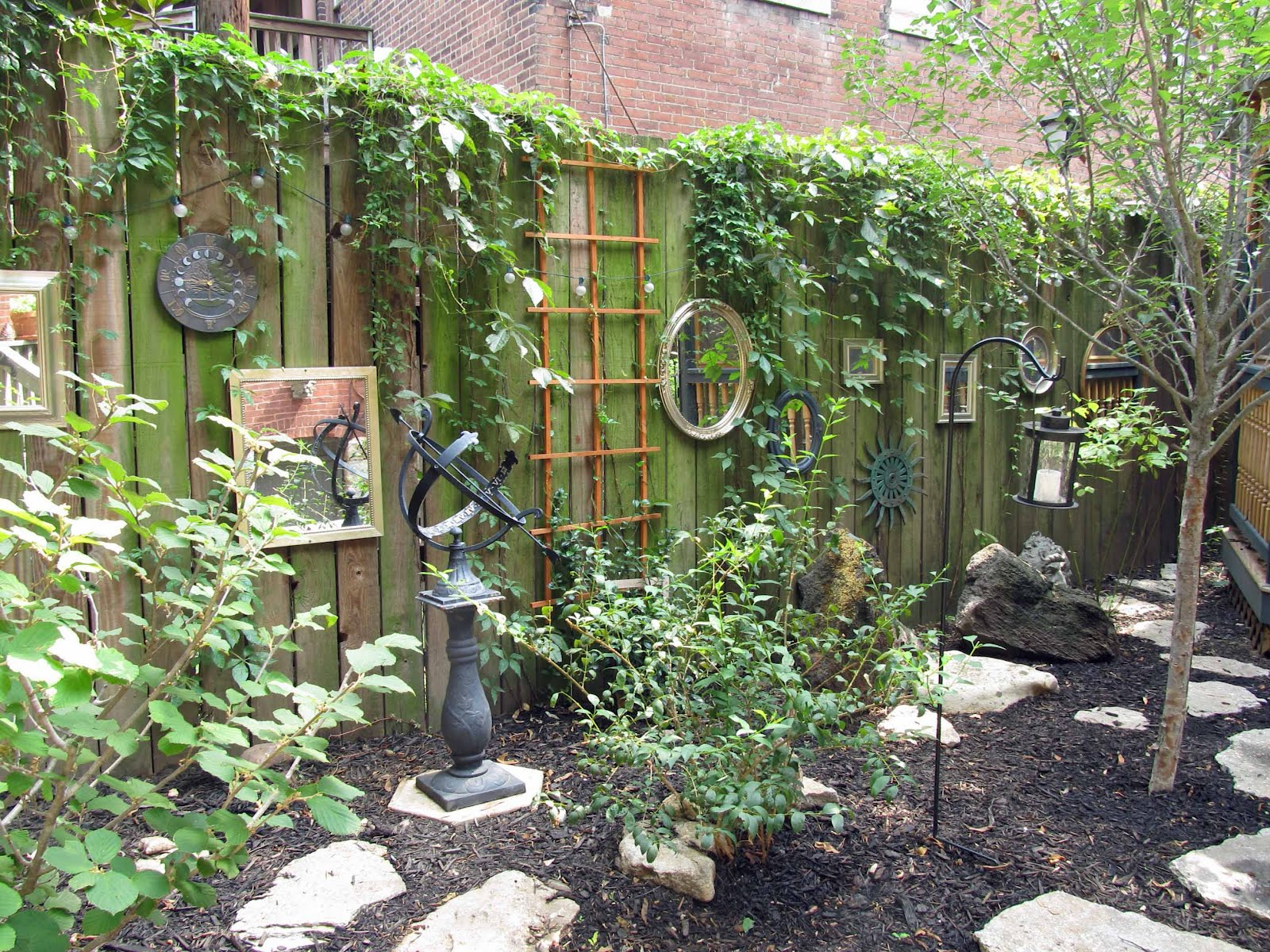 Widely Used 18 Dazzling Mirror Ideas For Your Garden – Garden Lovers Club Throughout Garden Wall Mirrors (View 6 of 20)