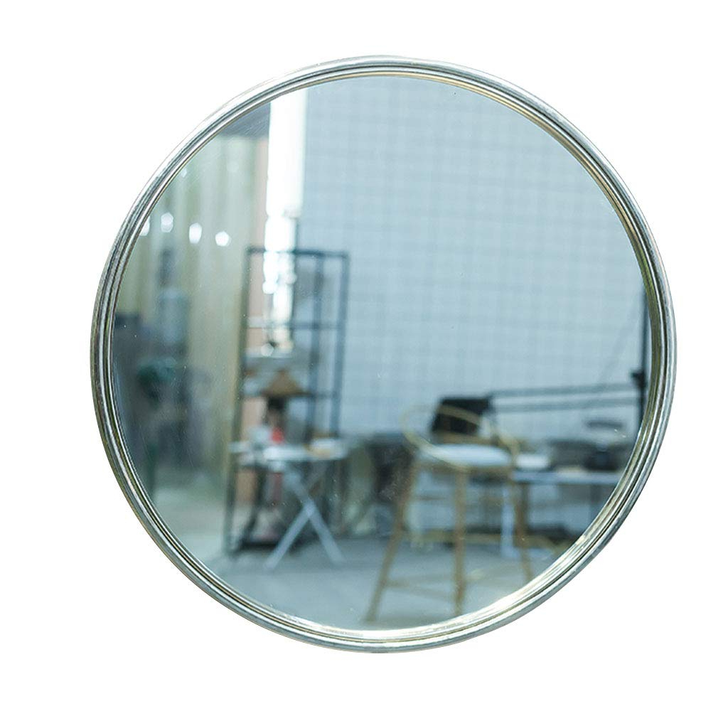 Widely Used Amazon: Wall Mirror Round Stainless Steel Glass Shatterproof 30 Inside Shatterproof Wall Mirrors (Gallery 1 of 20)