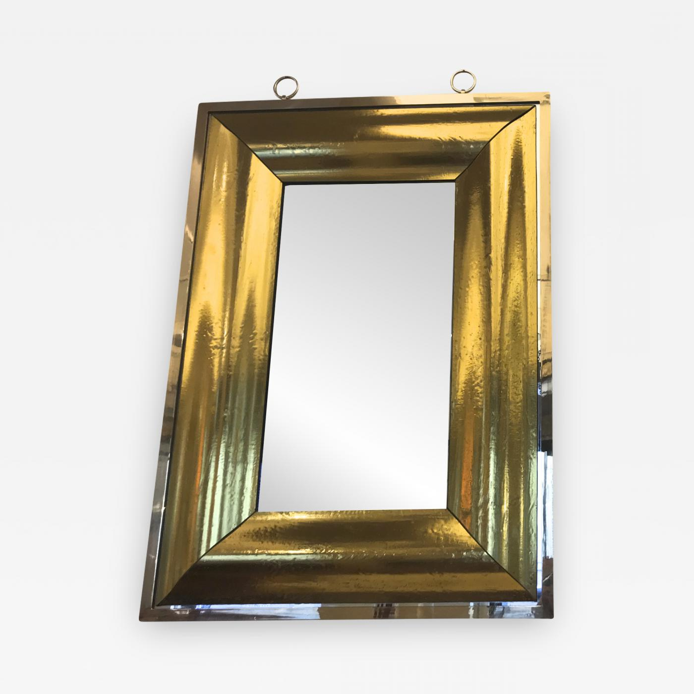 Widely Used Andre Hayat – Stunning Rectangular Curved Gold Mercury For Dandre Wall Mirrors (Gallery 14 of 20)