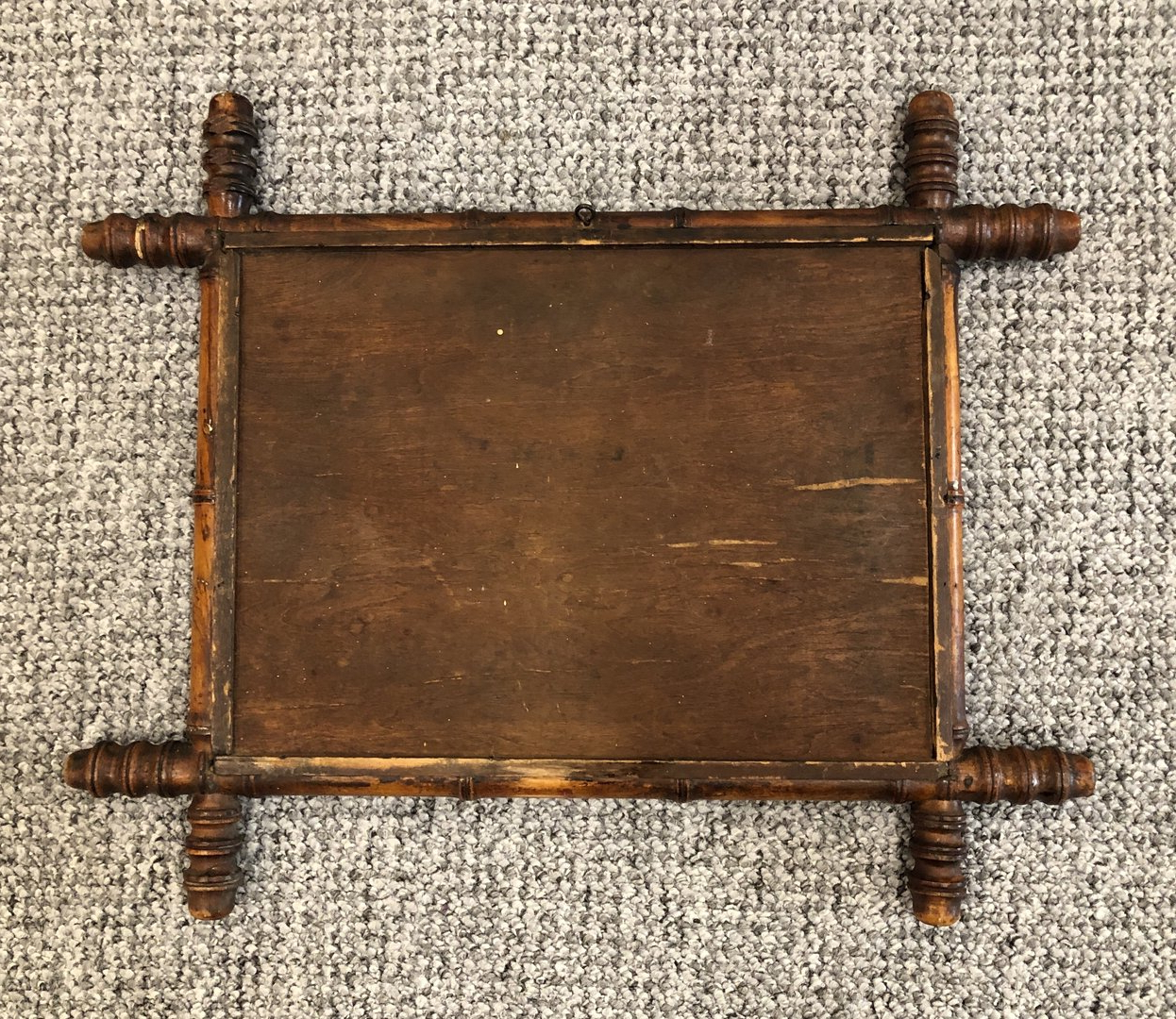 Widely Used Antique French Faux Bamboo Wall Mirror Throughout Bamboo Wall Mirrors (View 13 of 20)