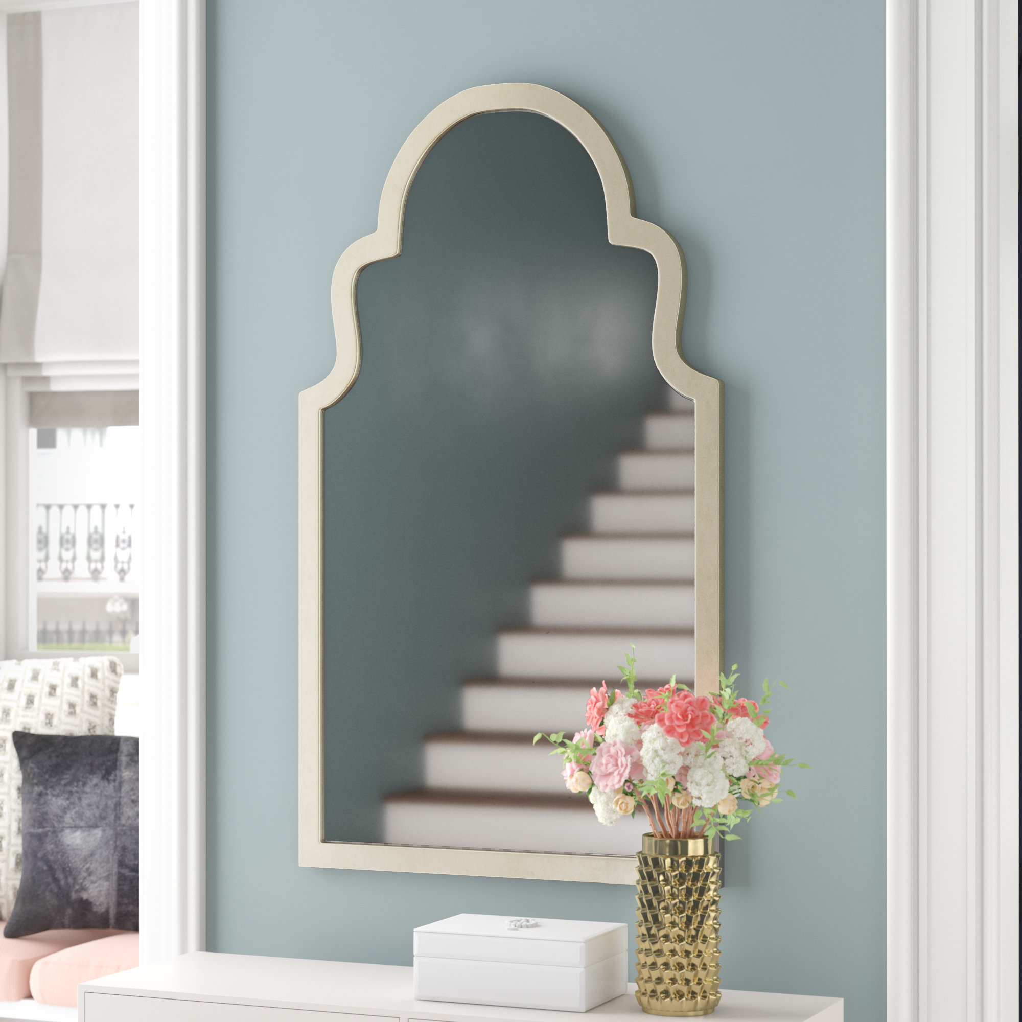 Widely Used Arch Top Vertical Wall Mirror Throughout Arch Top Vertical Wall Mirrors (View 20 of 20)