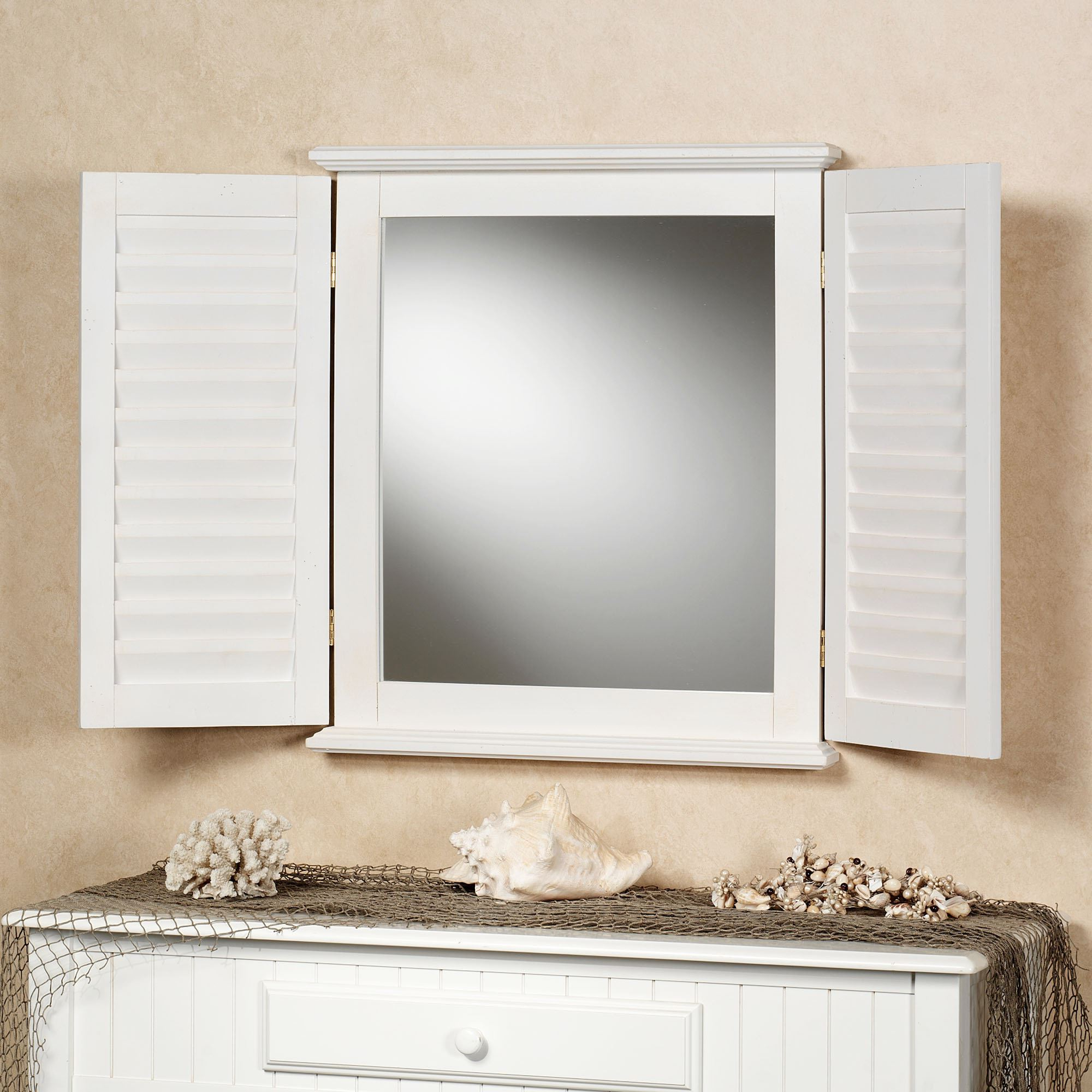 Widely Used Arched Mirror With Shutters – Mirror Ideas With Regard To Wall Mirrors With Shutters (View 1 of 20)