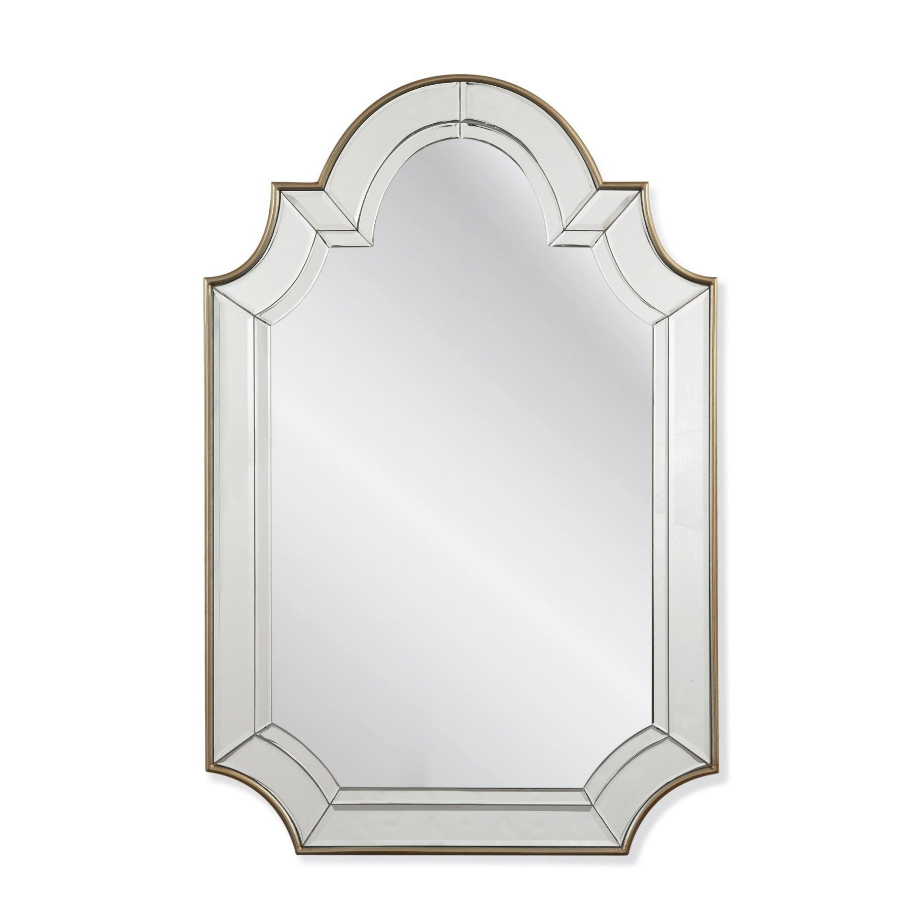 Widely Used Bassett Mirror Phaedra Wall Mirror – 30w X 46h In (View 8 of 20)