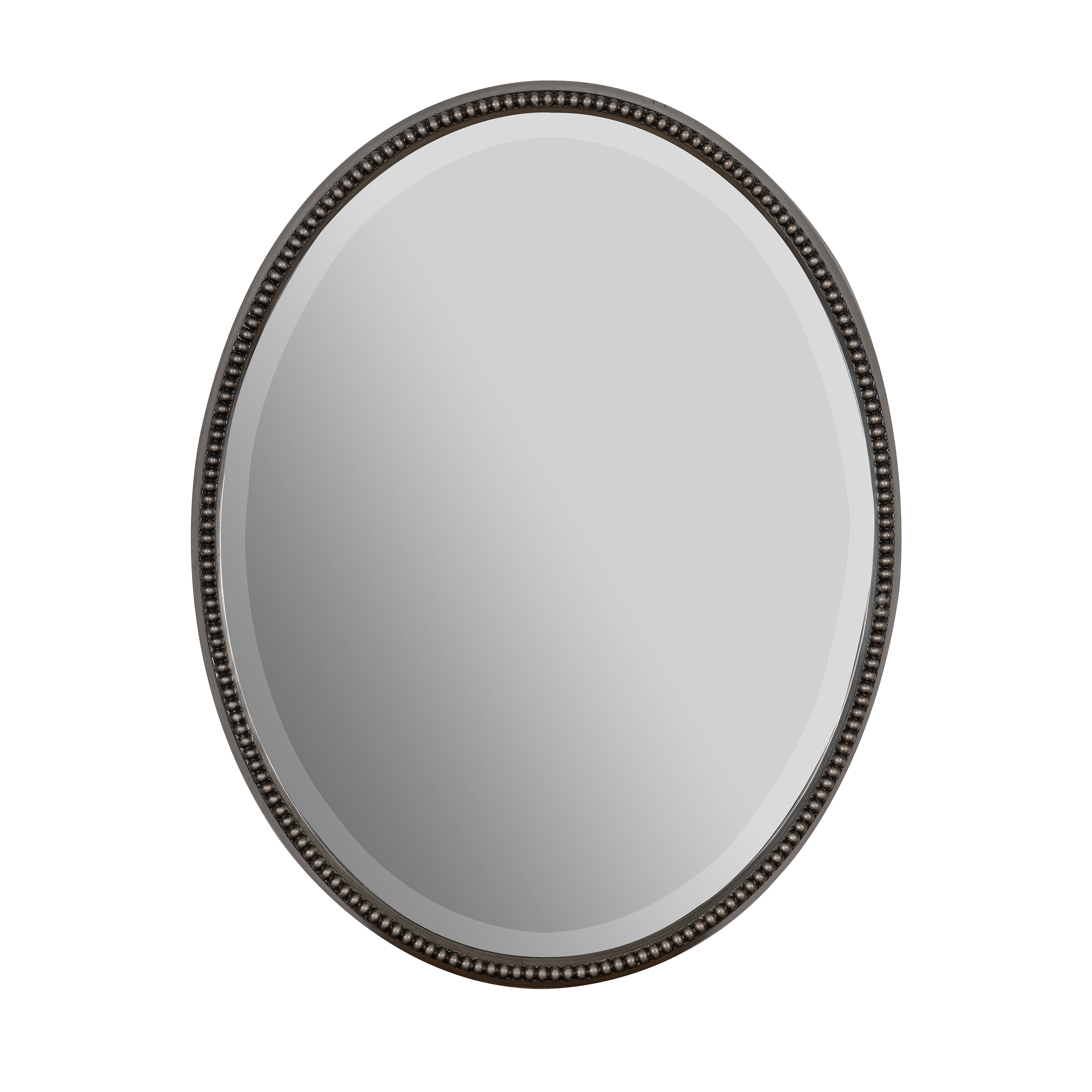 Widely Used Black Oval Wall Mirrors Pertaining To Zachary Oval Wall Mirror (View 18 of 20)