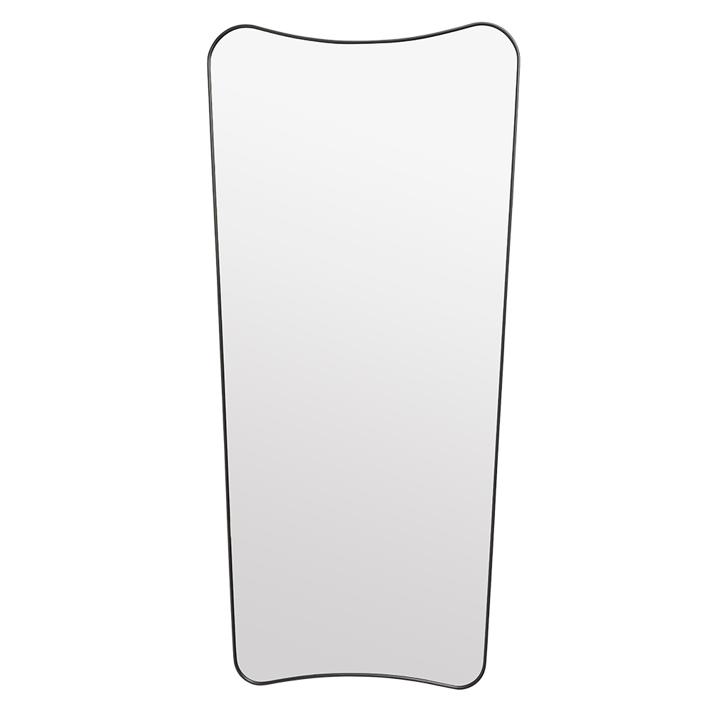 Widely Used Black Rectangle Wall Mirrors For Gio Ponti F.a (View 5 of 20)