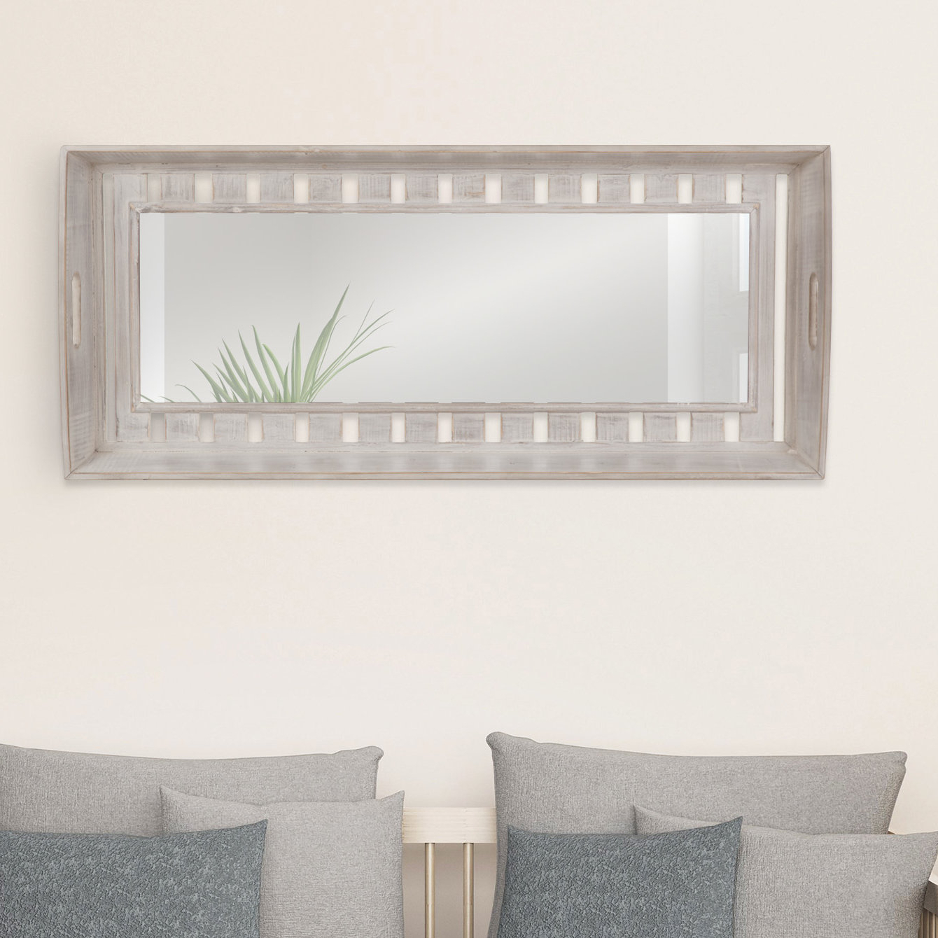 Widely Used Cecilia Rustic Wood Plank Accent Mirror With Regard To Epinal Shabby Elegance Wall Mirrors (View 17 of 20)