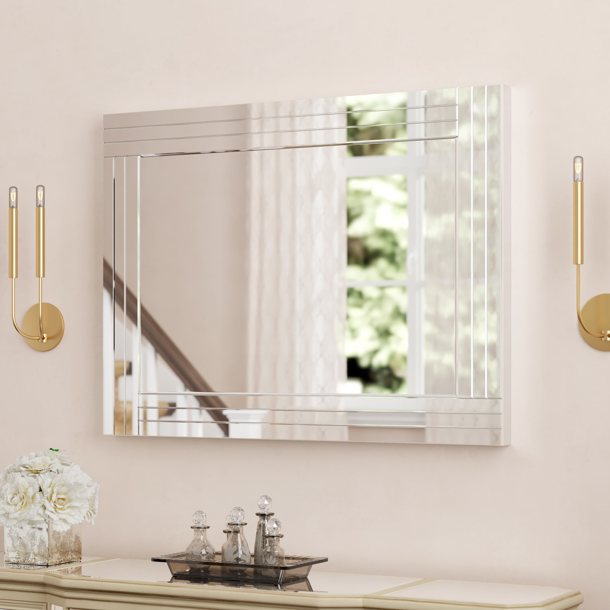 Widely Used Colton Modern & Contemporary Wall Mirrors Inside Willa Arlo Interiors Mattie Modern & Contemporary Wall Mirror (View 7 of 20)