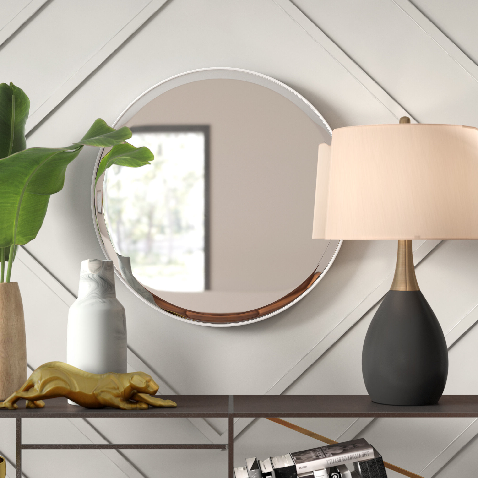 Widely Used Colton Modern & Contemporary Wall Mirrors Pertaining To Colton Wall Mirror (View 20 of 20)
