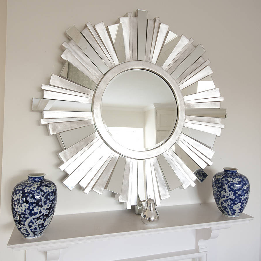 Widely Used Decorative Contemporary Wall Mirrors Throughout Contemporary Wall Mirrors Decorative Circle : Create Contemporary (View 12 of 20)