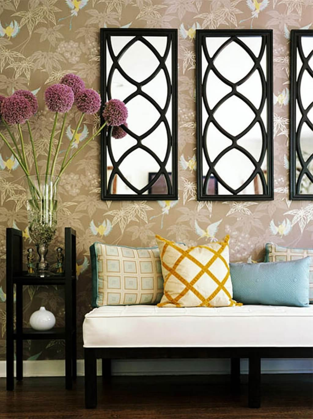 Widely Used Decorative Wall Mirrors For Living Room Frame : Perfect Decorative For Cheap Decorative Wall Mirrors (View 17 of 20)