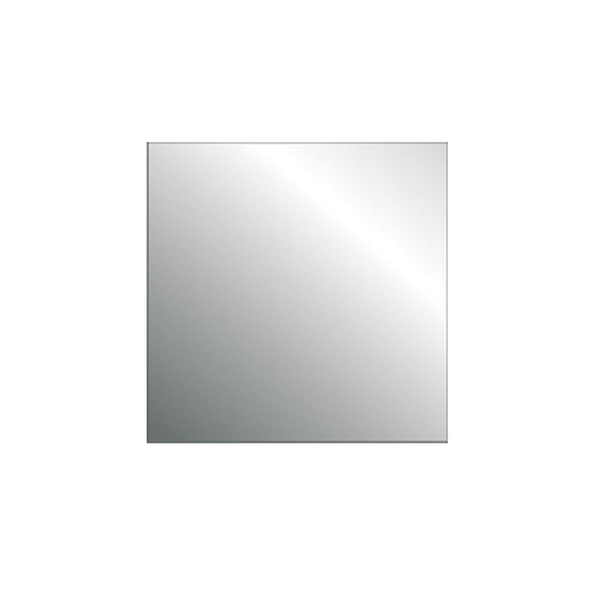 Widely Used Driade – No Frame I, Square Wall Mirror Pertaining To No Frame Wall Mirrors (View 2 of 20)