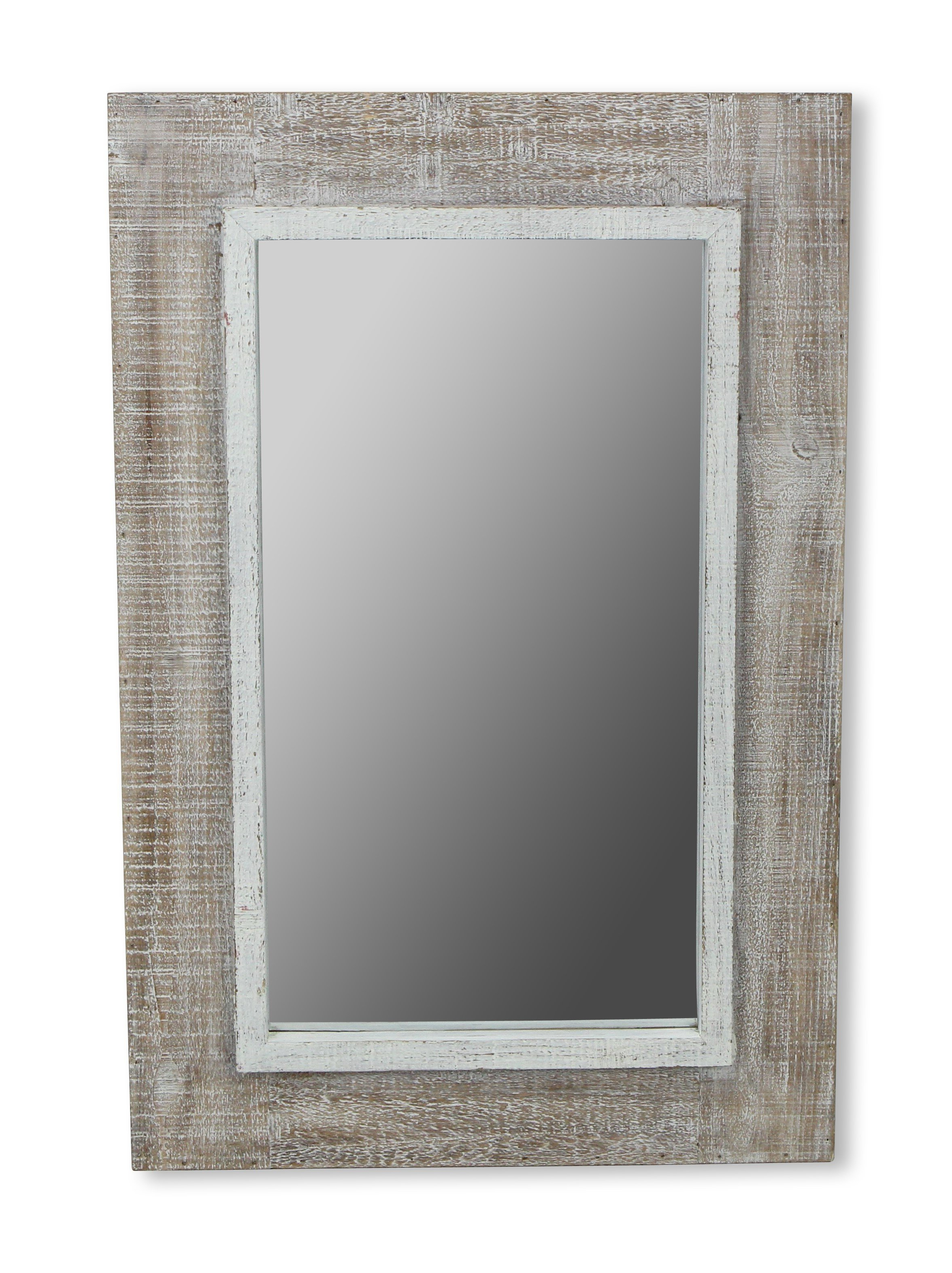 Widely Used Epinal Shabby Elegance Wall Mirrors Pertaining To Monti Accent Mirror (View 18 of 20)