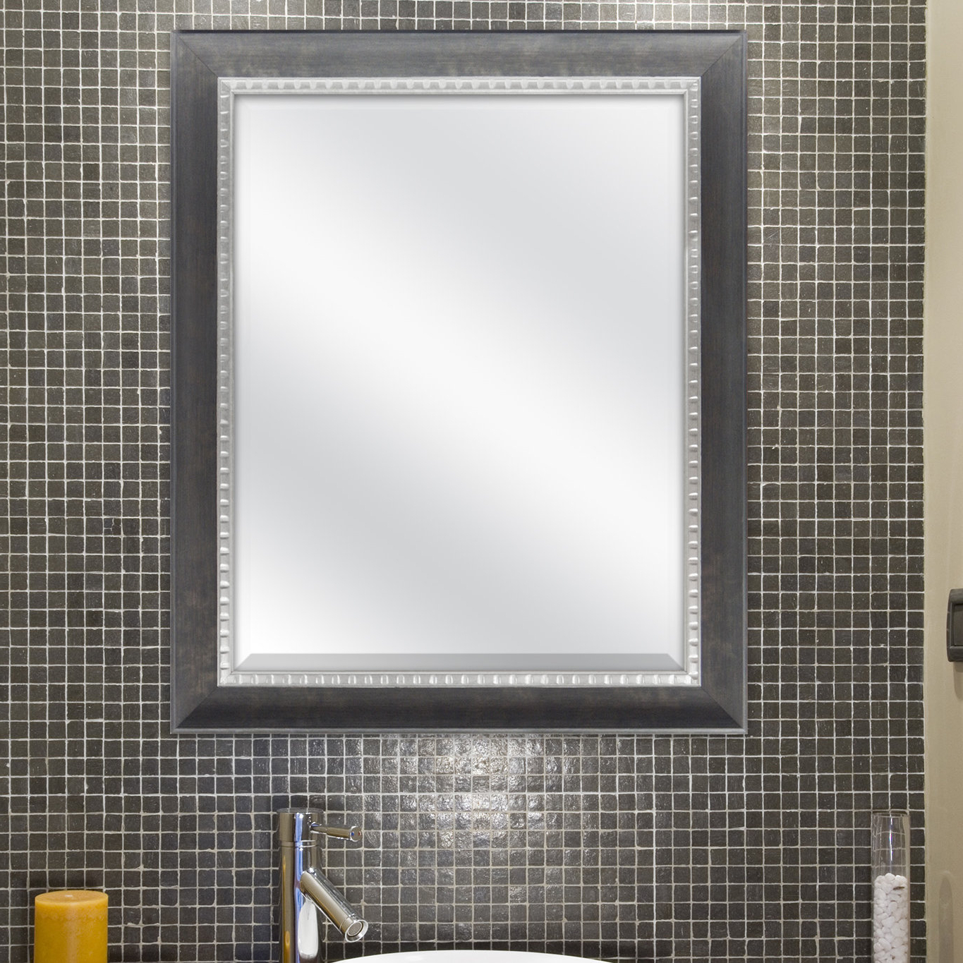 Widely Used Eriq Framed Wall Mirrors Intended For Vernon Accent Mirror (View 18 of 20)