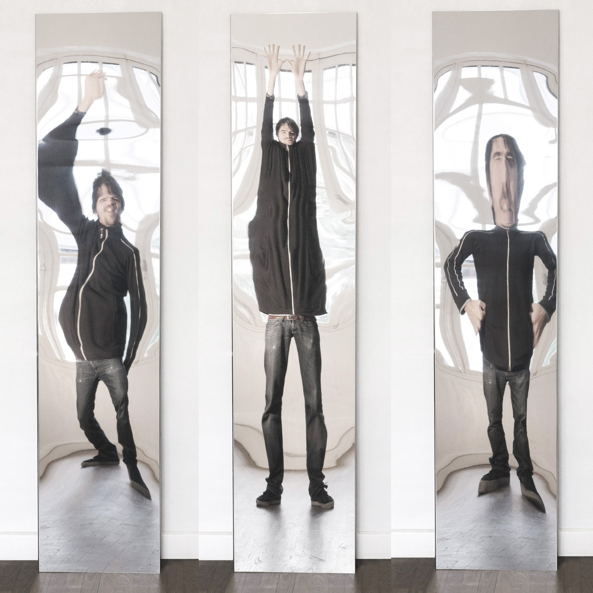 Widely Used Flat Wall Mirrors Inside Flat Distorting Mirrors (View 4 of 20)
