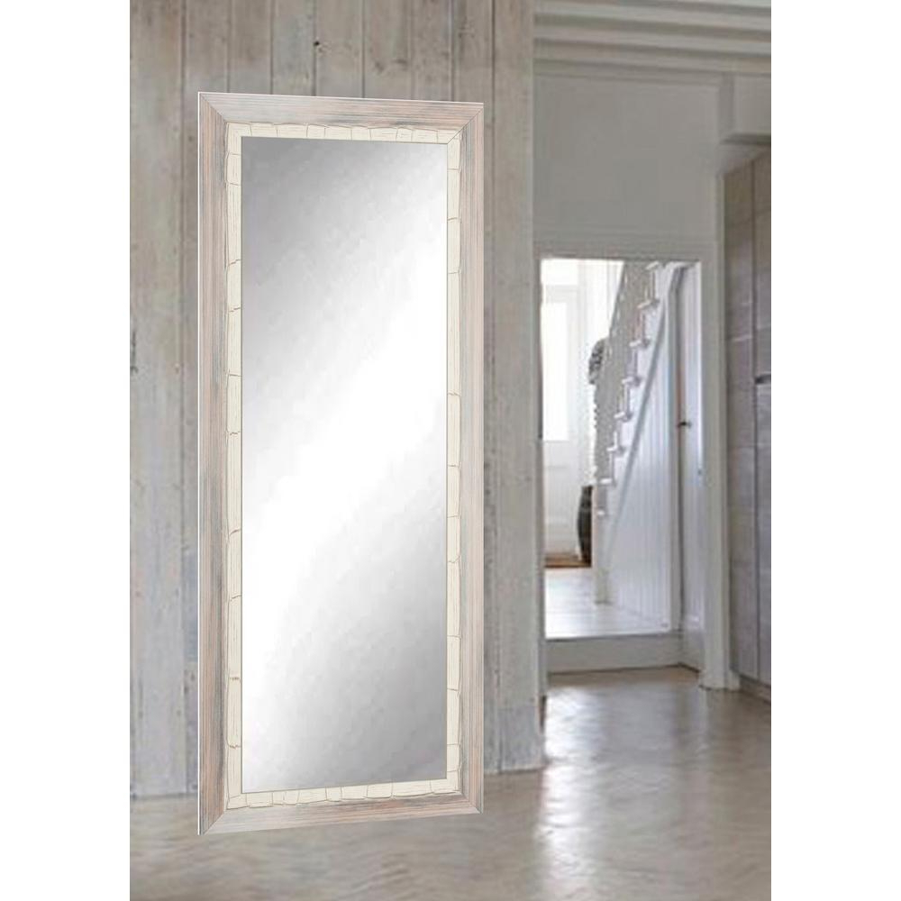 Widely Used Floor Wall Mirrors Intended For Brandtworks Weathered Beach Full Length Wall Mirror Bm23Thin (View 19 of 20)