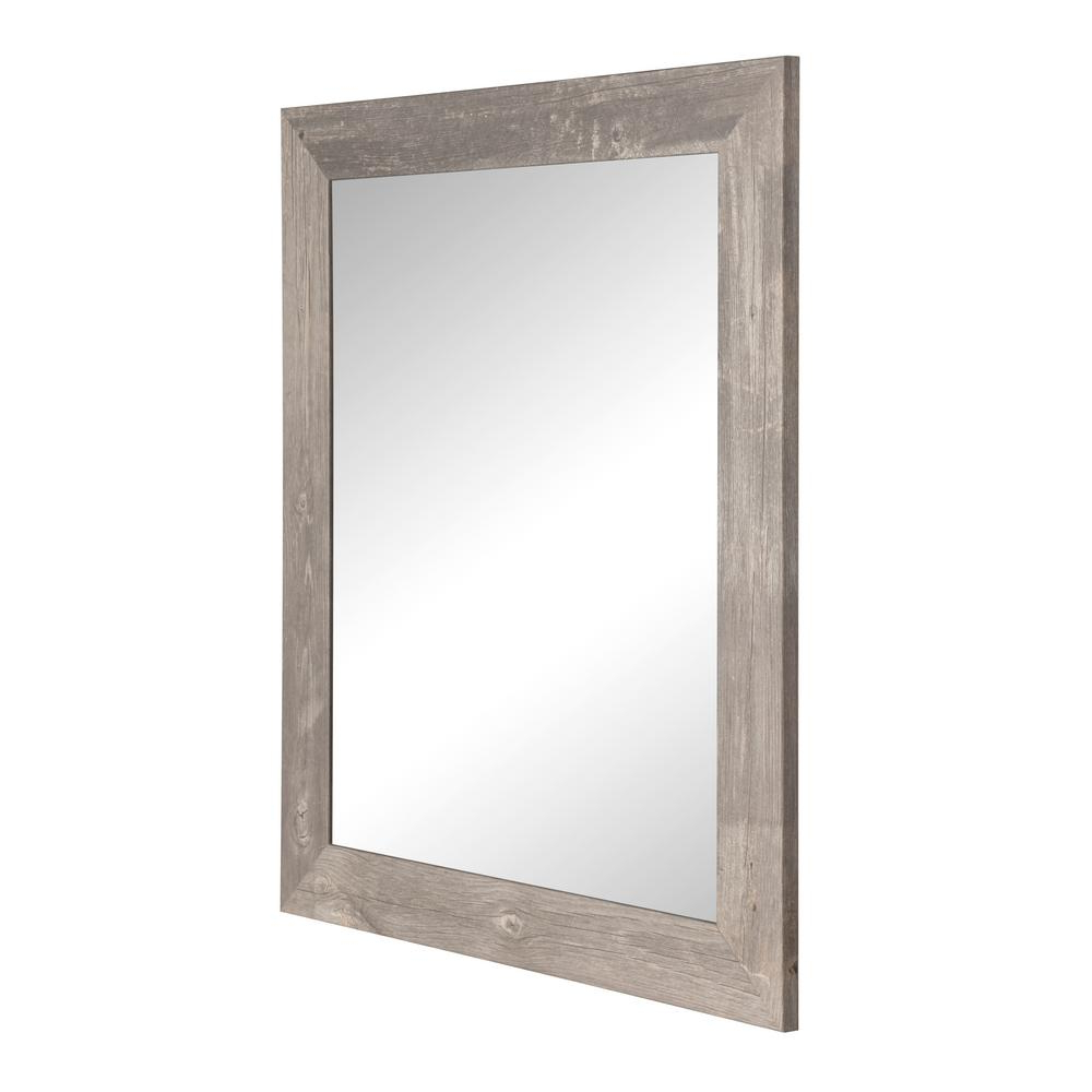 Widely Used Glynis Wild West Accent Mirrors Throughout Brandtworks Rustic Wild West Brown Barnwood Decorative Framed Wall (View 4 of 20)