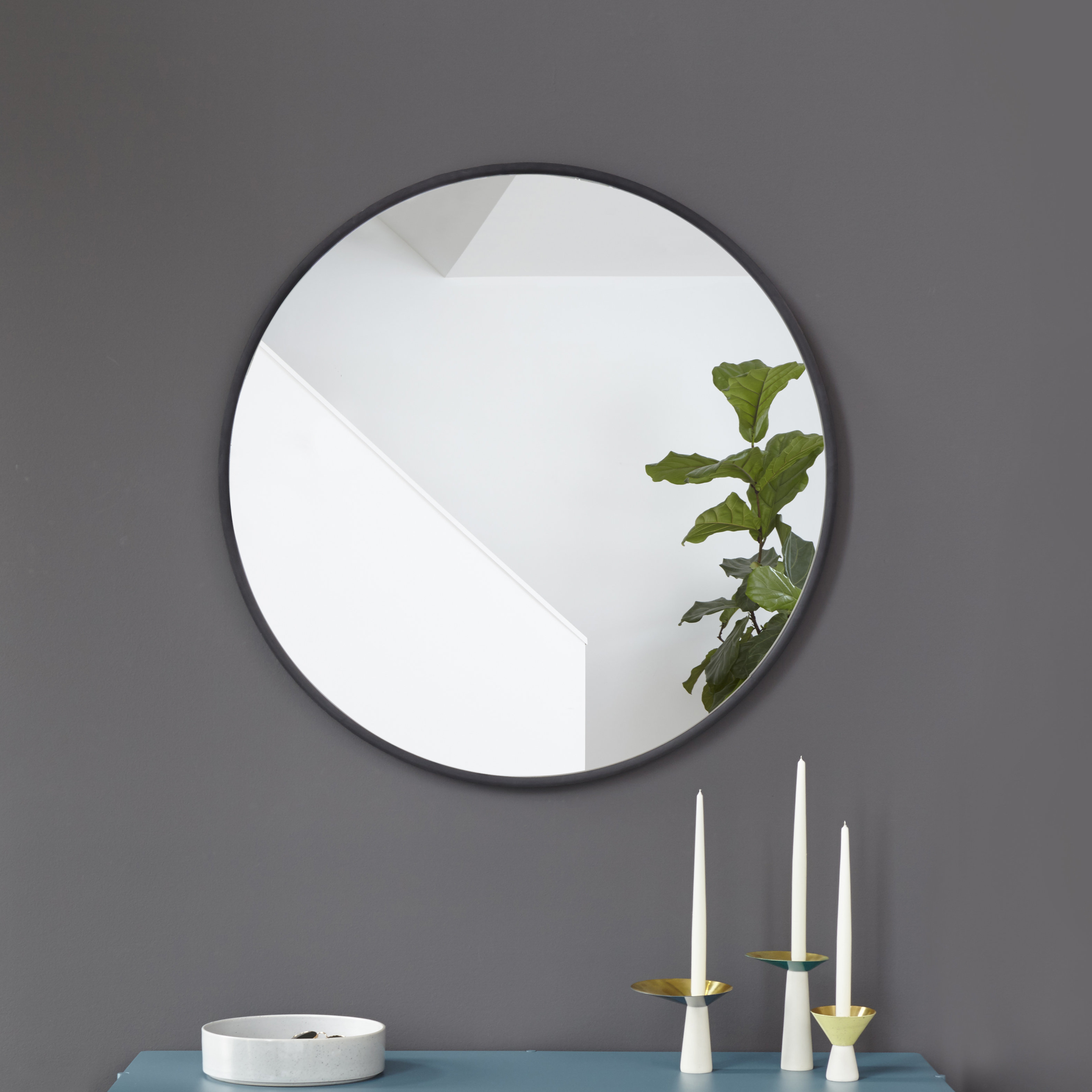 Widely Used Hub Modern And Contemporary Accent Mirror With Hub Modern And Contemporary Accent Mirrors (View 20 of 20)