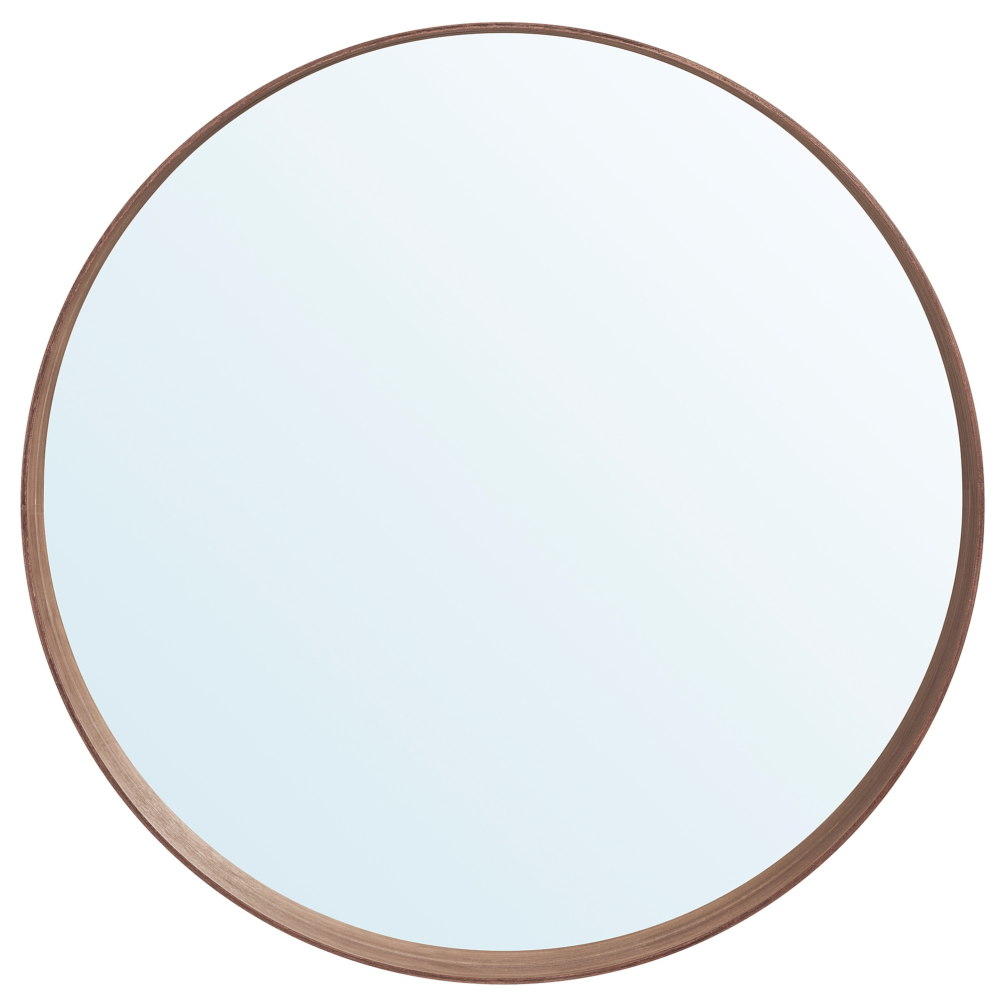 Widely Used Ikea Round Wall Mirrors In Stockholm – Mirror, Walnut Veneer (View 3 of 20)