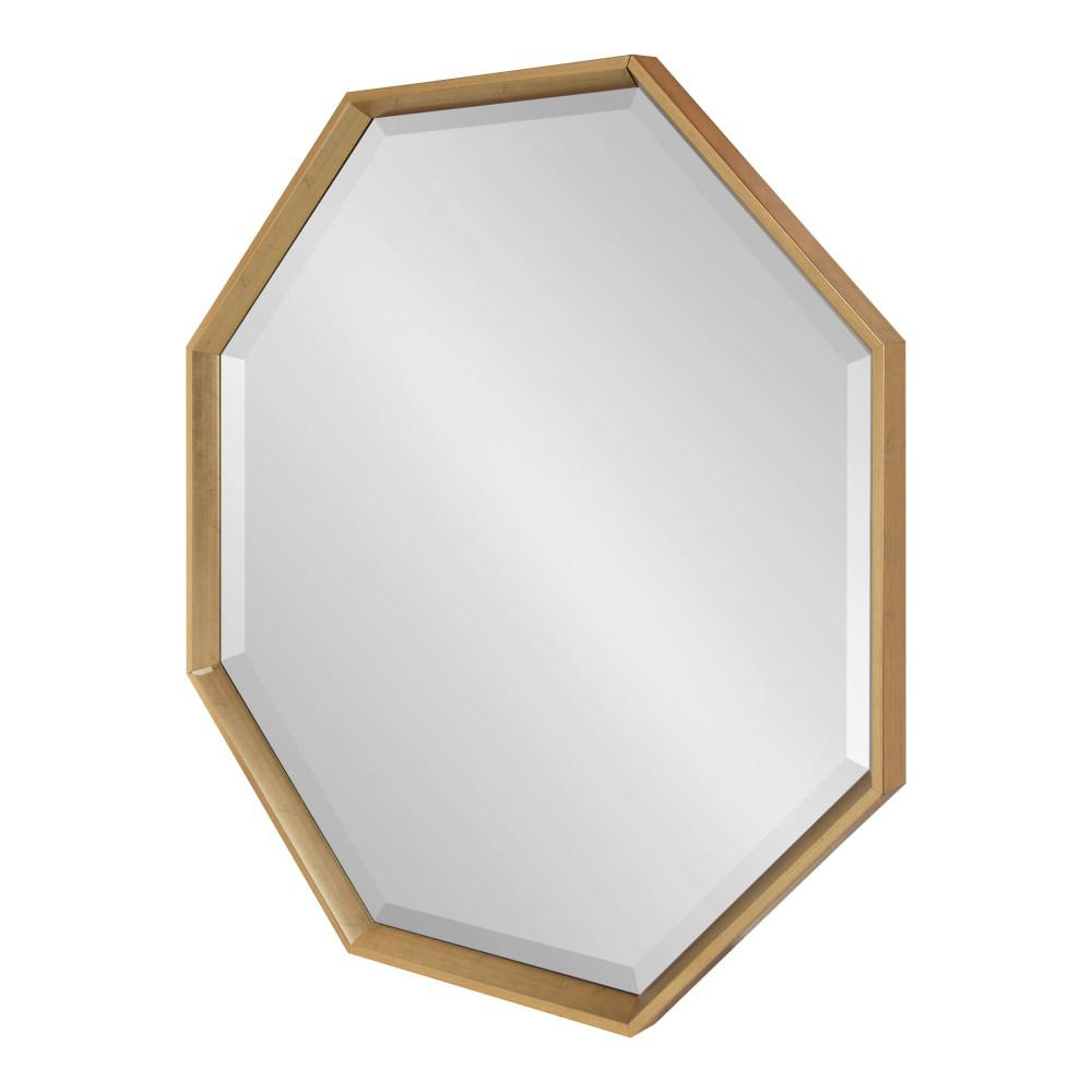 Widely Used Kate And Laurel Calter Octagon Gold Plastic Wall Mirror 215370 – The Regarding Plastic Wall Mirrors (View 20 of 20)