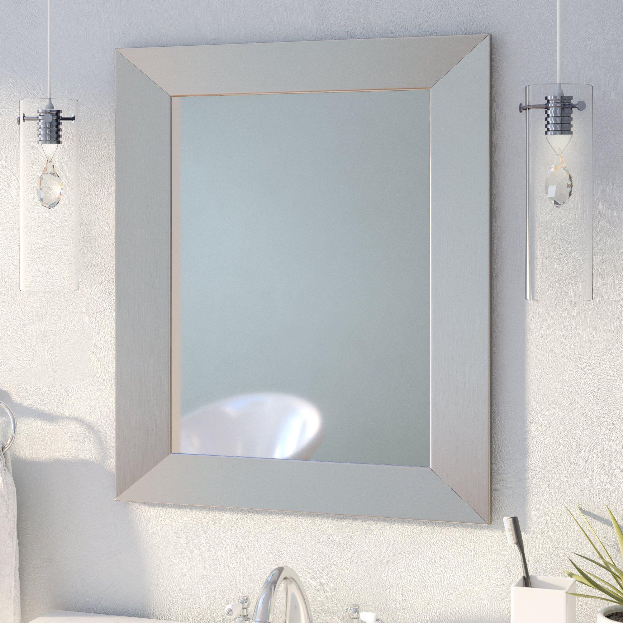 Widely Used Kurt Bathroom/vanity Mirror (View 8 of 20)