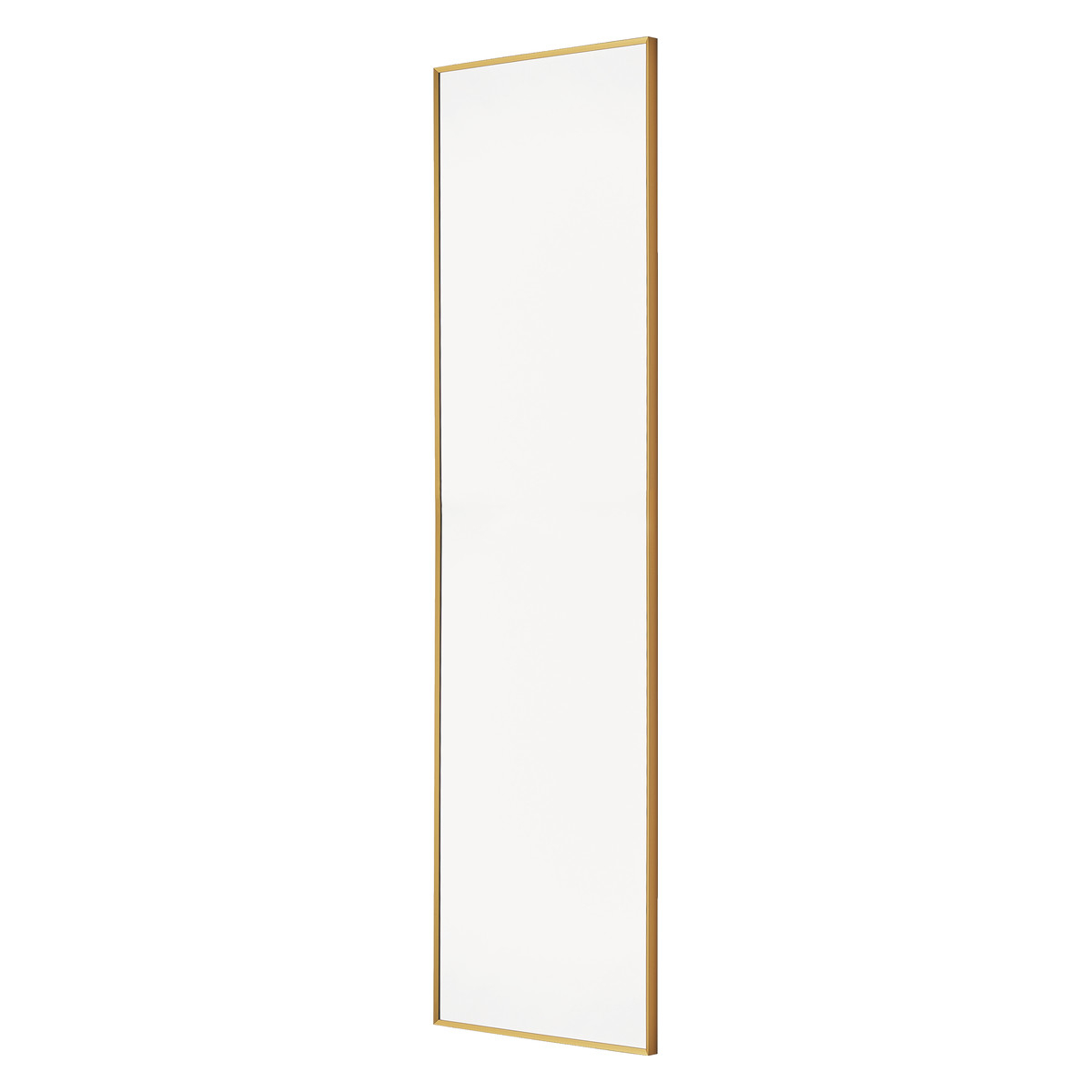 Widely Used Long Thin Wall Mirrors Inside Kupari 40 X 140cm Gold Full Length Wall Mirror (View 15 of 20)
