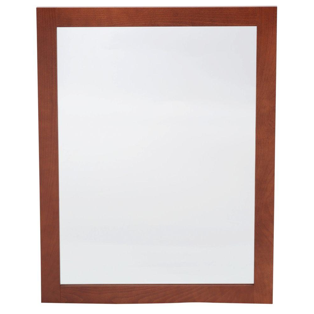Widely Used Orange Framed Wall Mirrors With Regard To Glacier Bay Artisan 24 In. X 31 In (View 12 of 20)
