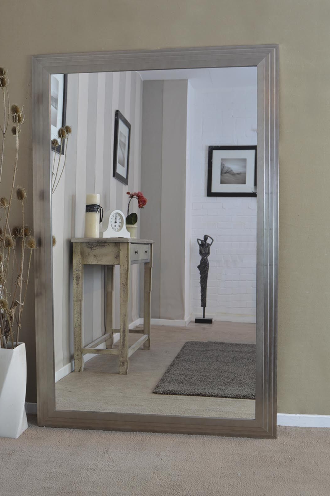Widely Used Oversized Wall Mirrors Inside Extra Wide Wall Mirror (View 20 of 20)