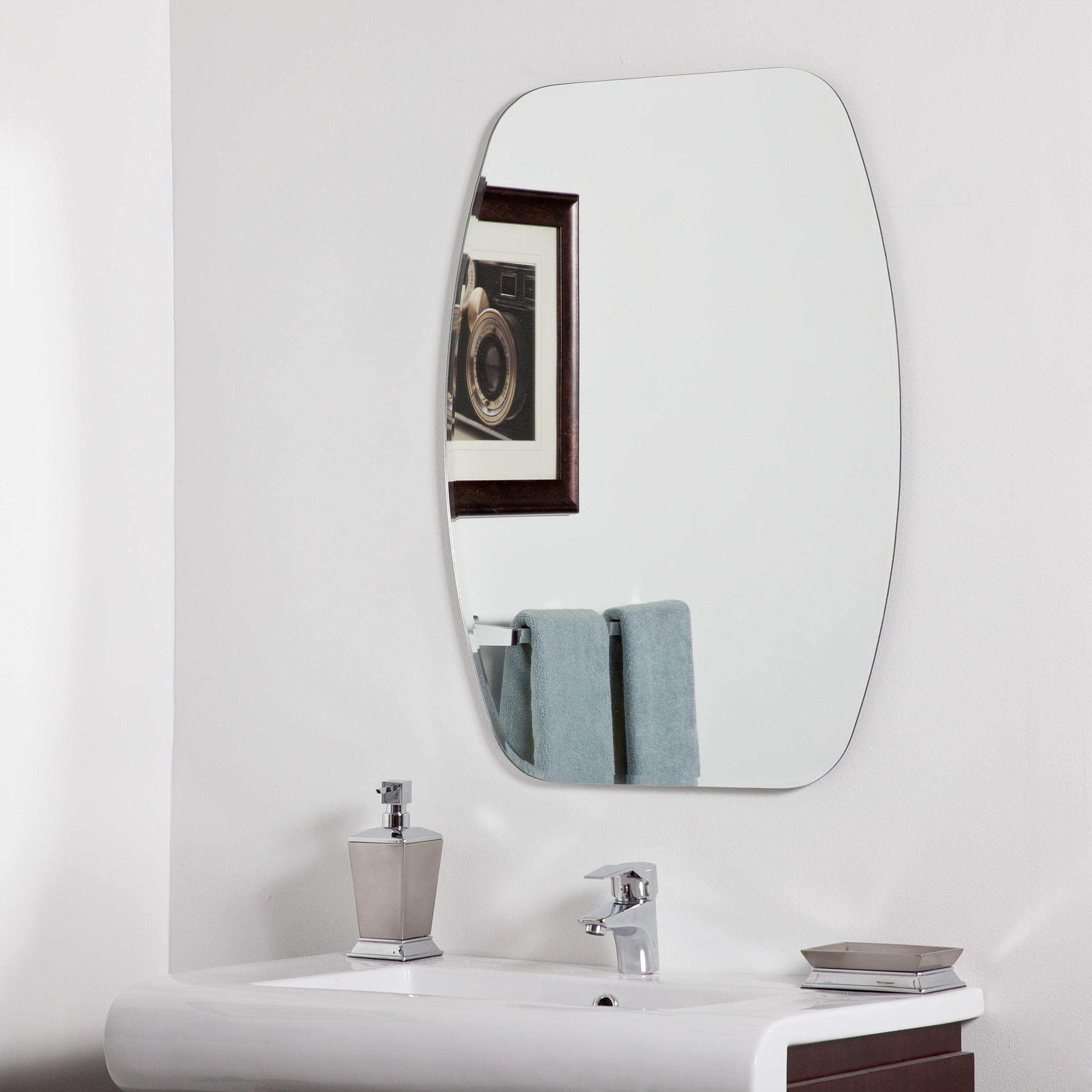 Widely Used Sydney Modern Bathroom Mirror – Silver – A/n Within Contemporary Bathroom Wall Mirrors (View 19 of 20)
