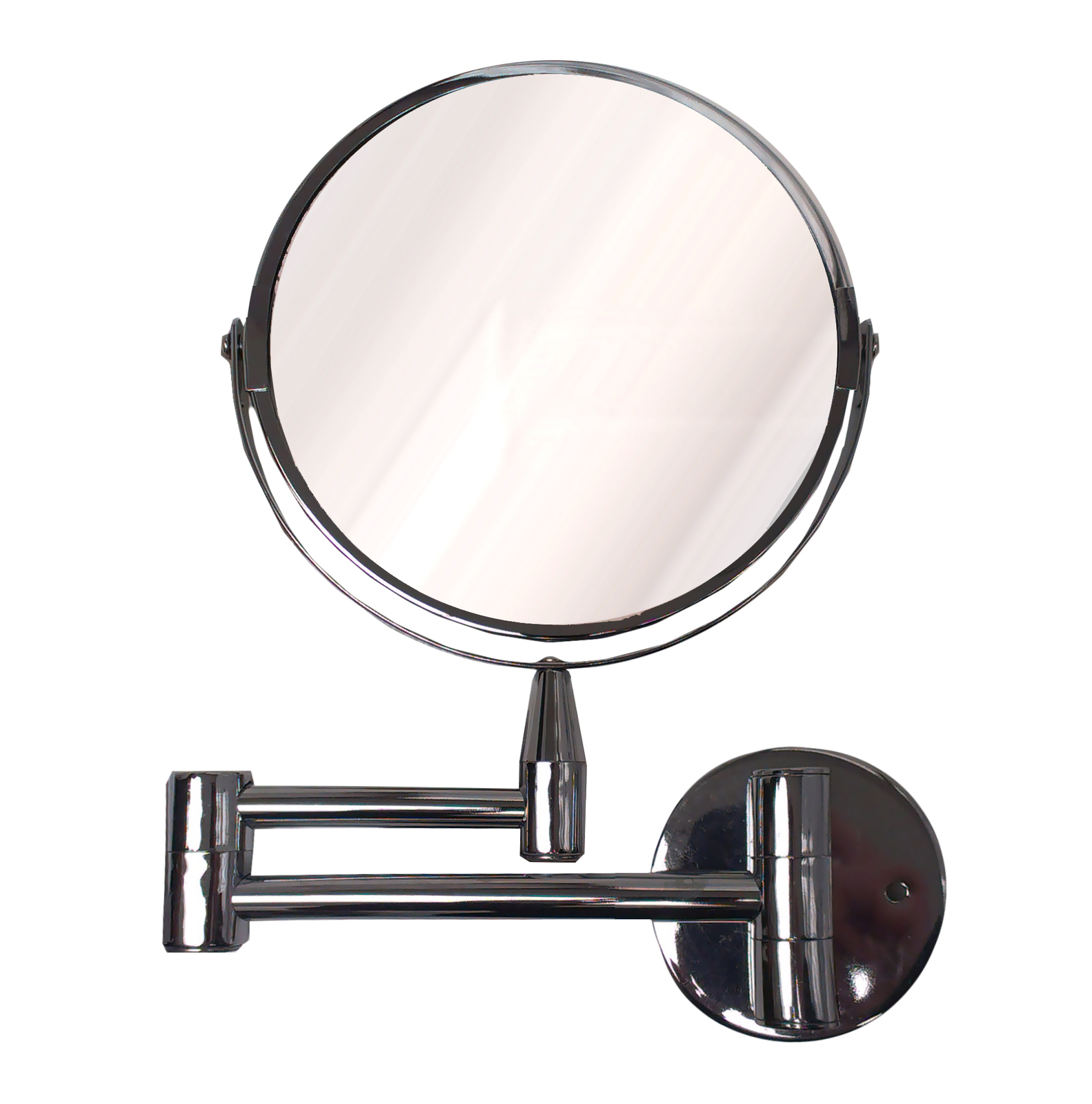 Widely Used Wall Mirror, Folding, Metal Chrome Regarding Folding Wall Mirrors (View 20 of 20)
