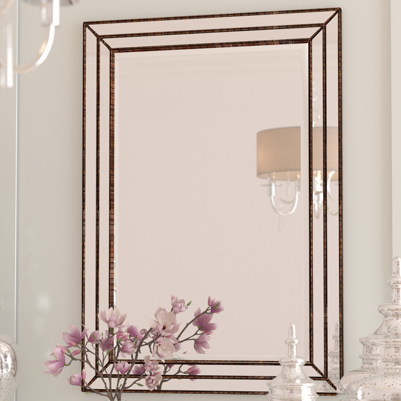 Widely Used Willacoochee Traditional Beveled Accent Mirrors Regarding Willacoochee Traditional Rectangle Accent Mirror (View 12 of 20)