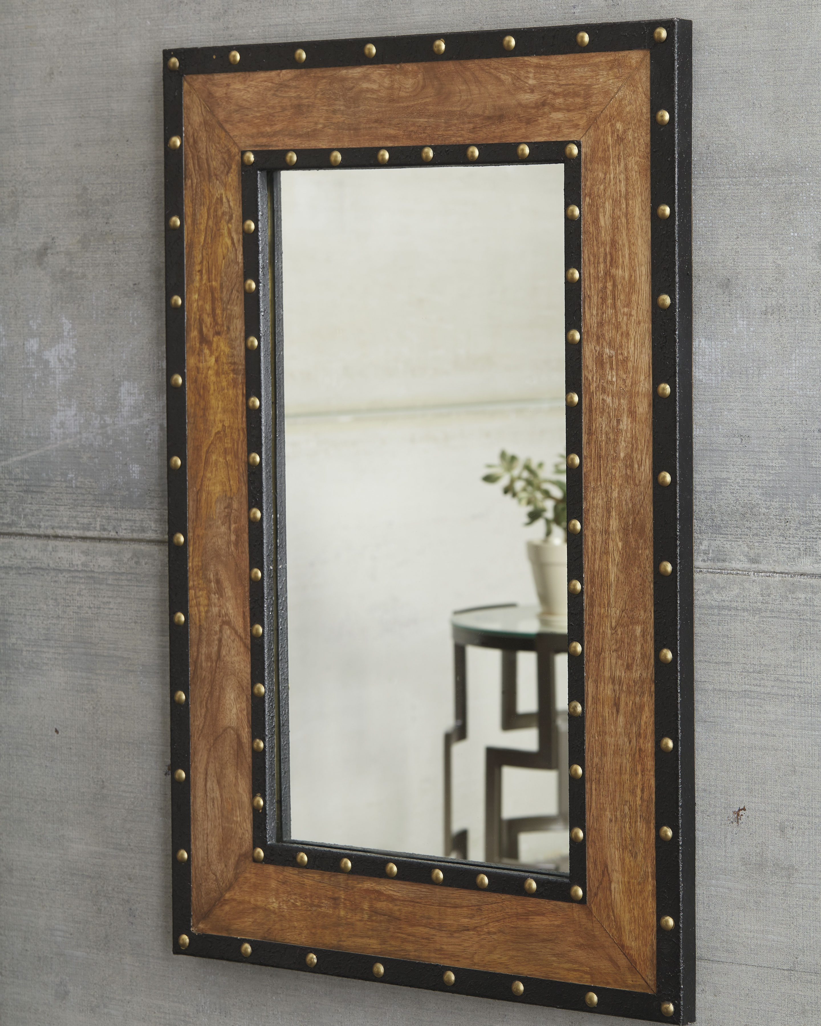 Widely Used Wood Accent Mirrors Regarding Dulcina Accent Mirror (View 18 of 20)