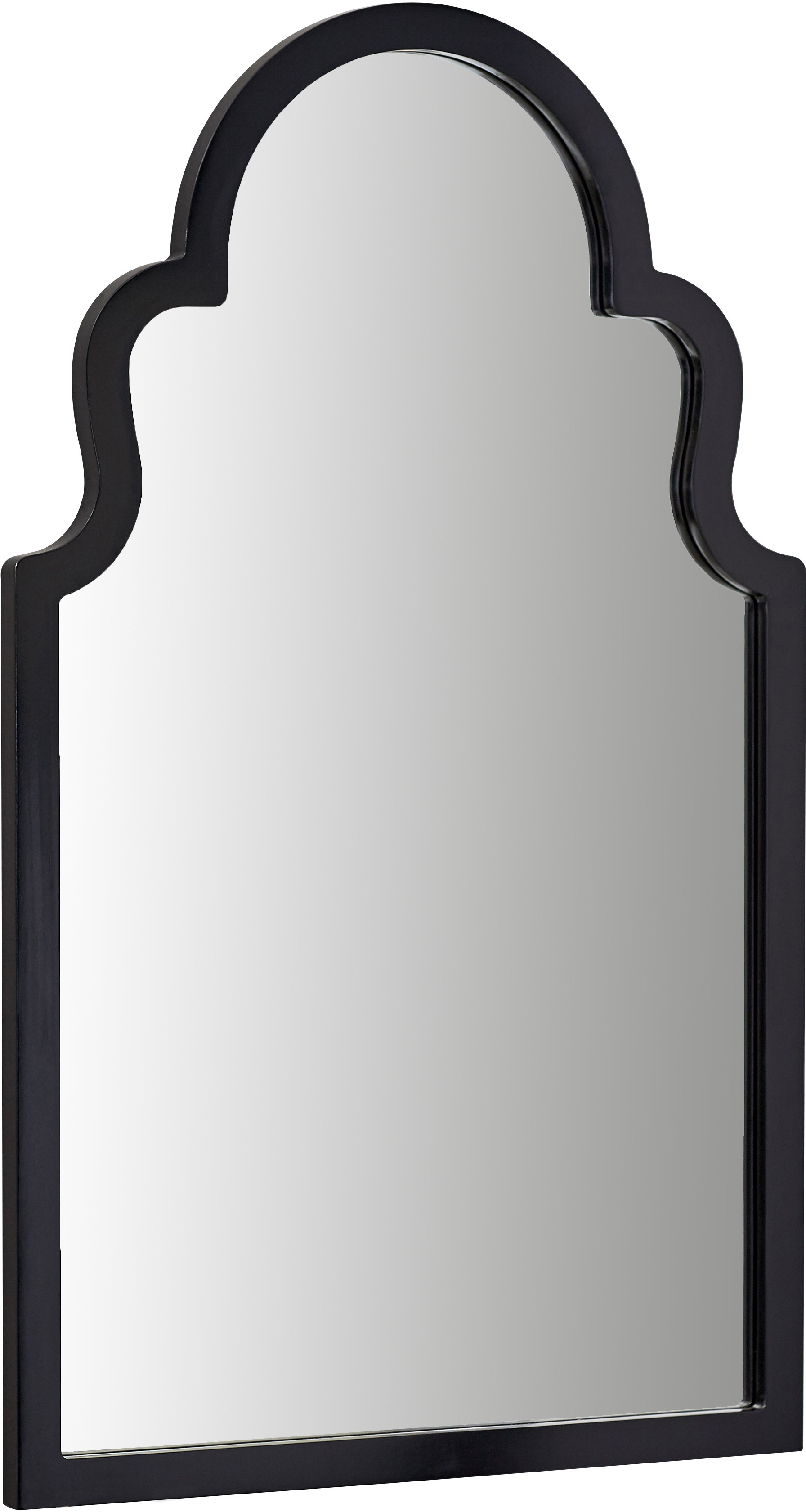 Willa Arlo Interiors Fifi Contemporary Arch Wall Mirror With Regard To Fashionable Dariel Tall Arched Scalloped Wall Mirrors (View 14 of 20)
