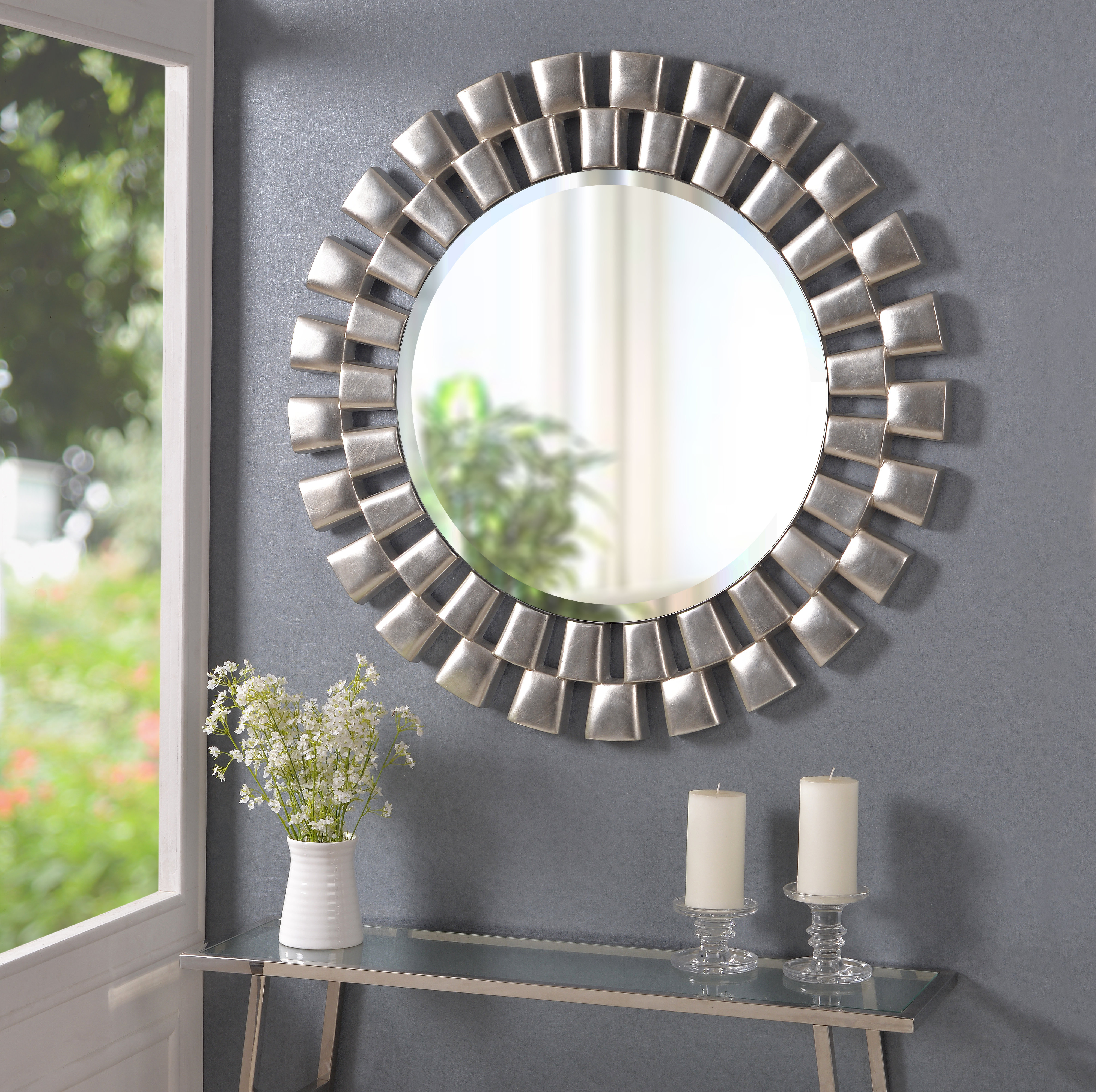 Willa Arlo Interiors Glam Beveled Accent Mirror Within Preferred Brynn Accent Mirrors (View 11 of 20)