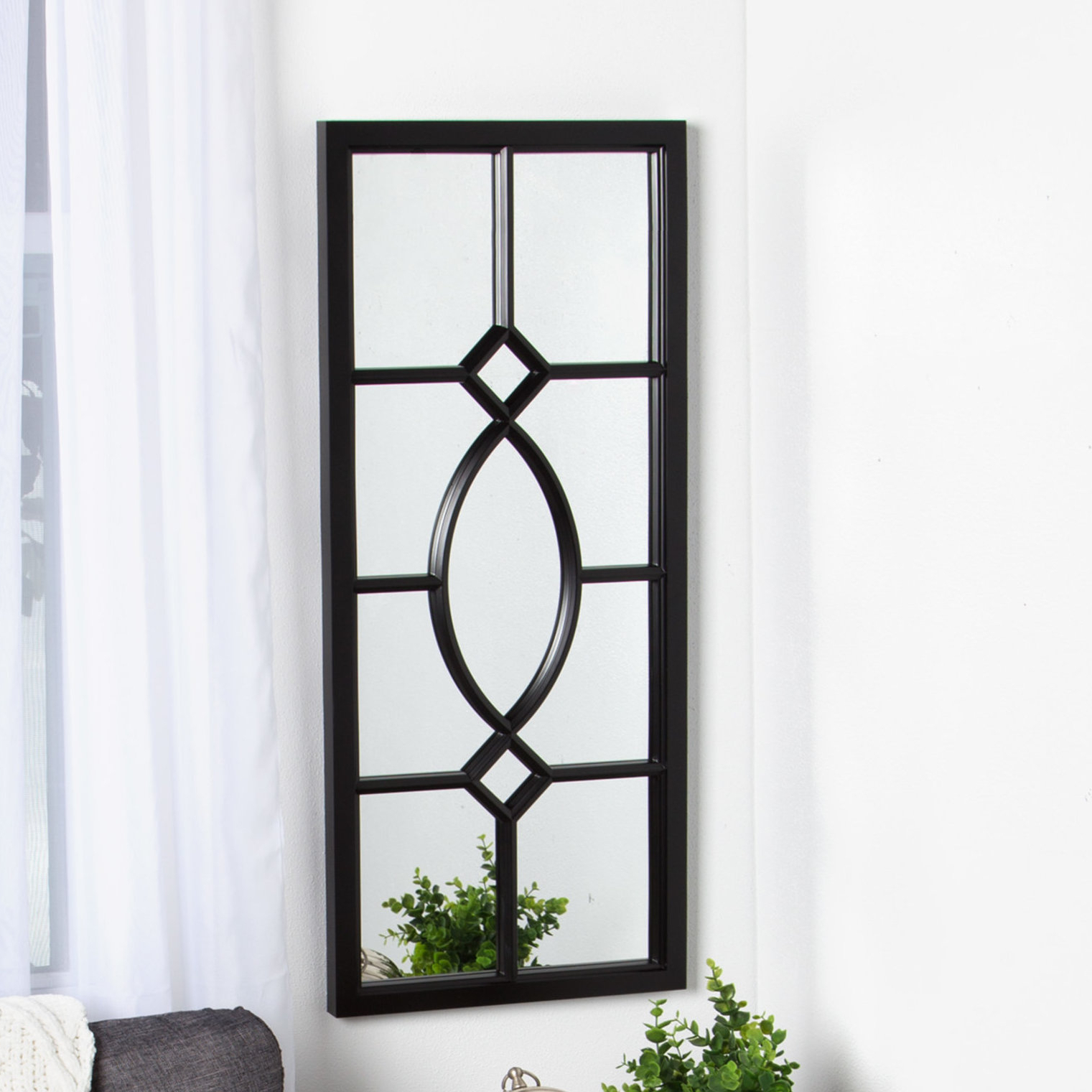 Window Wall Mirrors In Favorite Mercersburg Window Wall Accent Mirror (View 5 of 20)