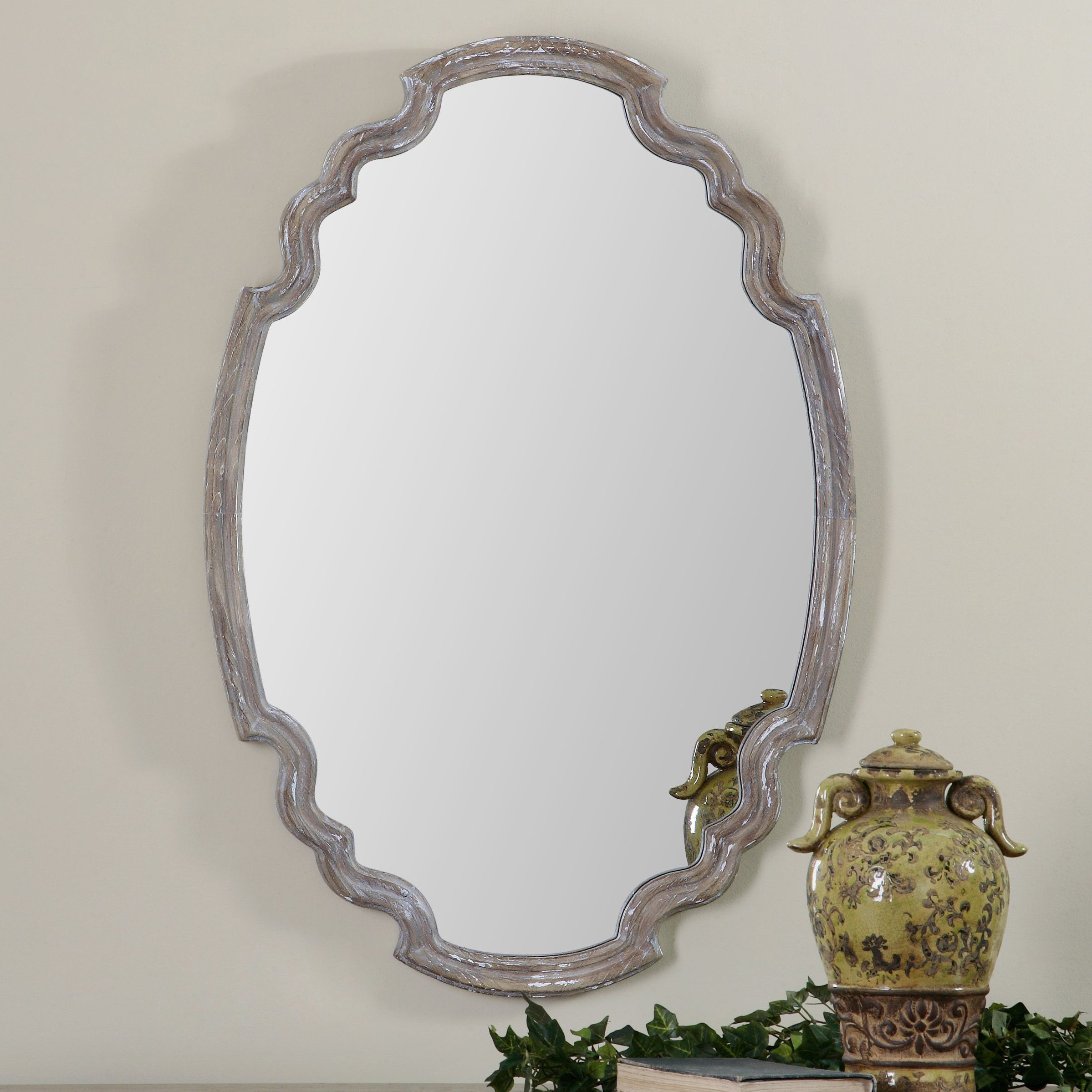 Wood Accent Mirror Throughout Well Known Astrid Modern & Contemporary Accent Mirrors (View 14 of 20)