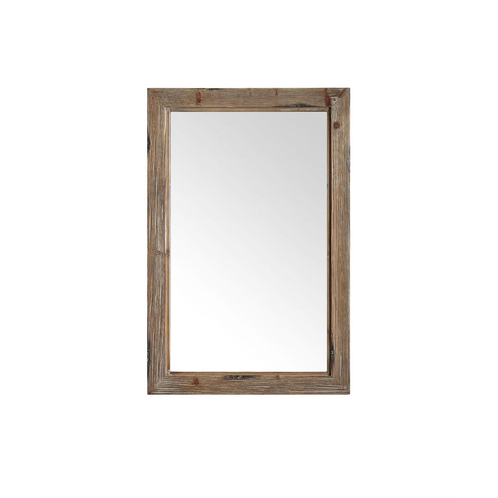 Wood Framed Wall Mirrors With Preferred 24 In. W X 1.2 In. D X 36 In (View 11 of 20)