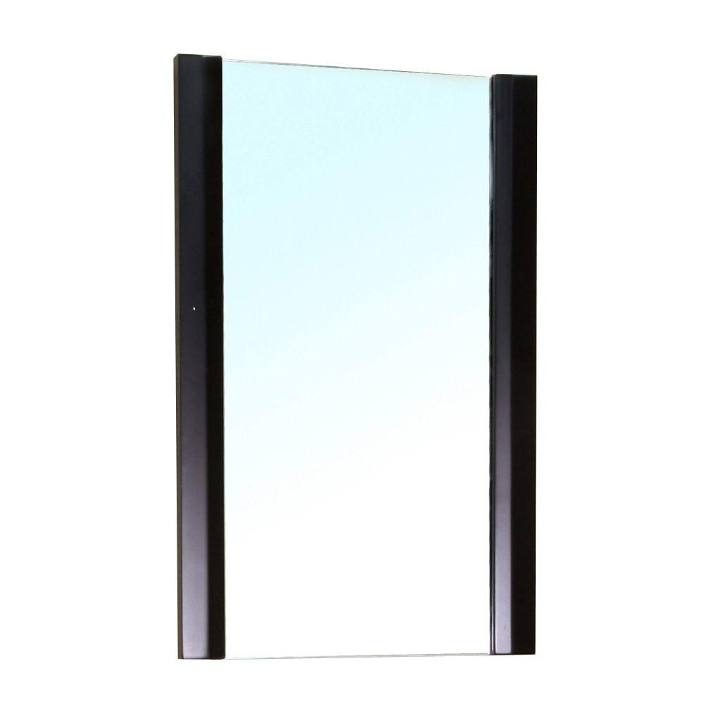Wood Framed Wall Mirrors With Regard To Favorite Bellaterra Home Bexhill 32 In. L X 20 In (View 8 of 20)