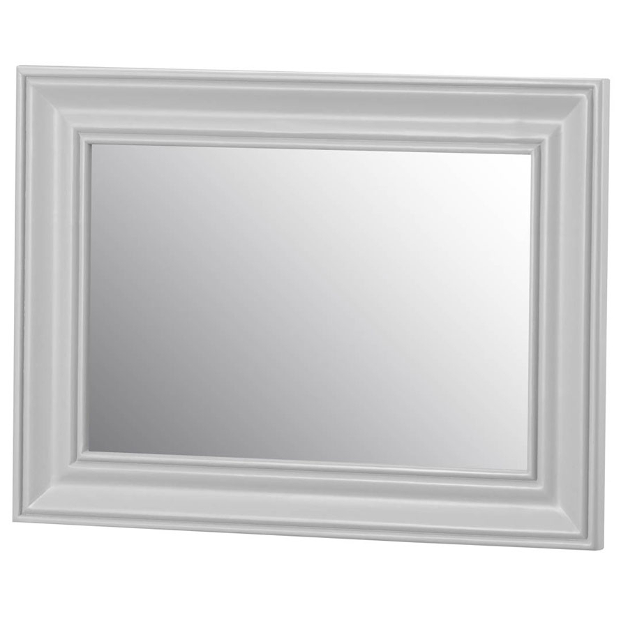 Woodbridge Grey Painted Small Wall Mirror Regarding Popular Painted Wall Mirrors (View 20 of 20)