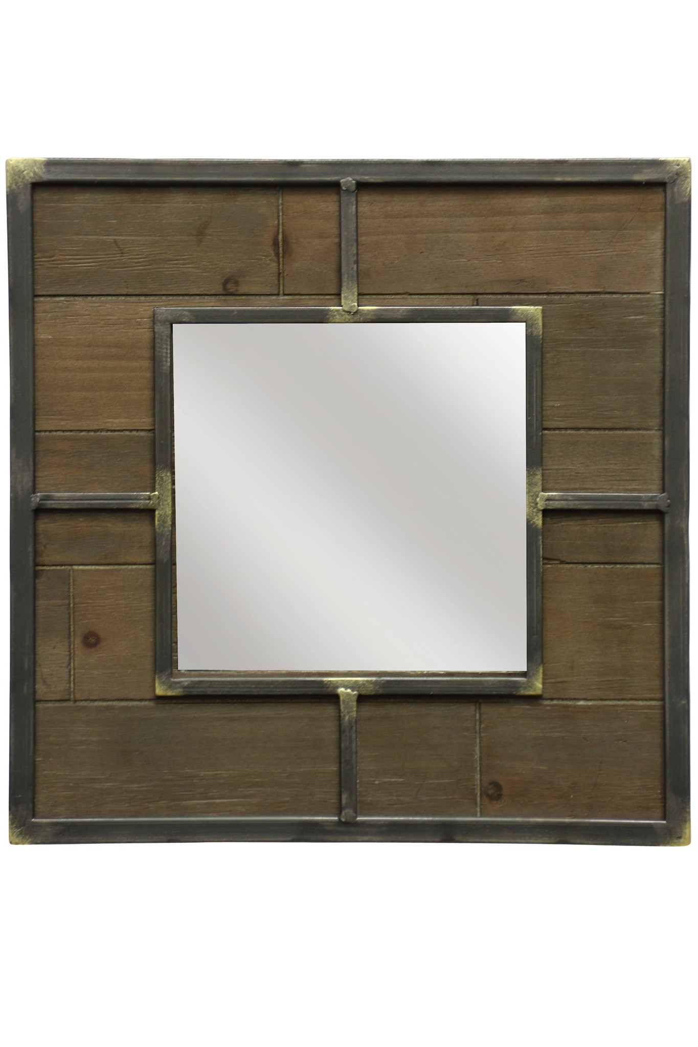 Wooden Wall Mirror For Recent Wooden Wall Mirrors (View 14 of 20)