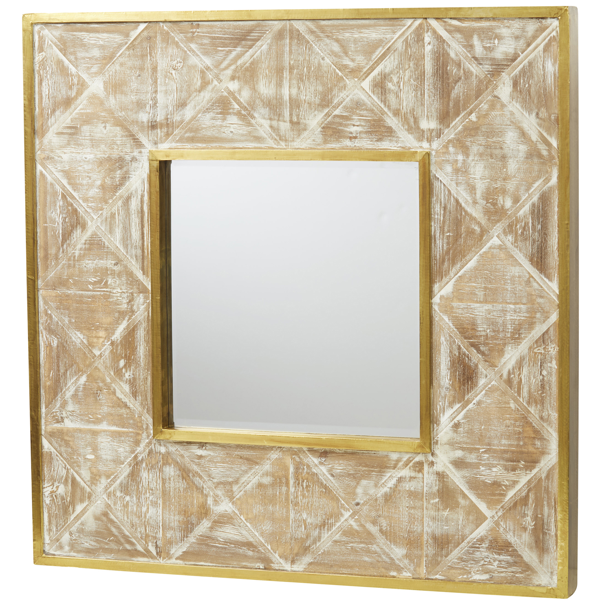Wooden Wall Mirrors In Most Current Isadora Wooden Wall Mirror (View 16 of 20)